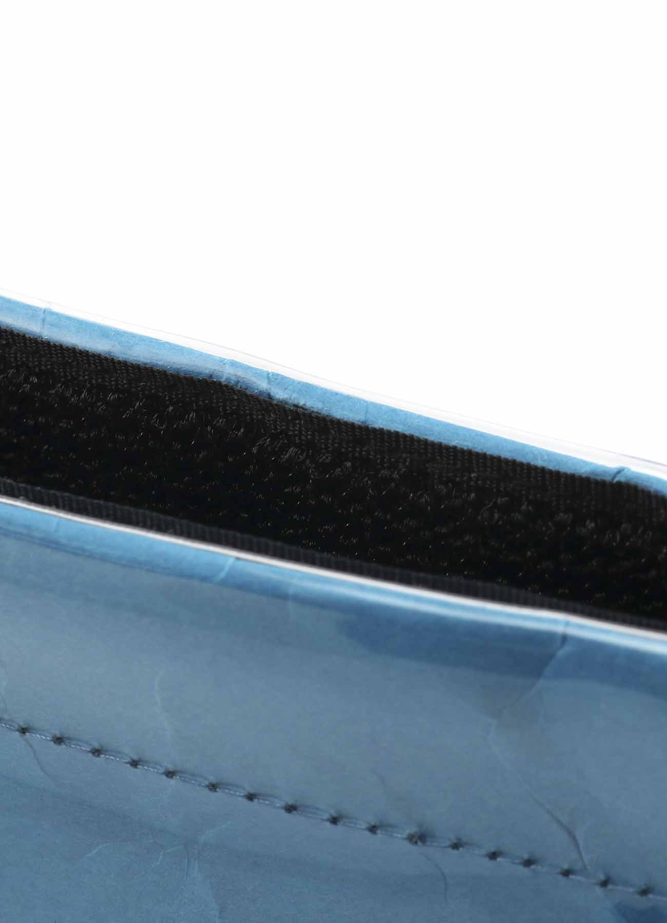 Vinyl Chloride Clutch Bag