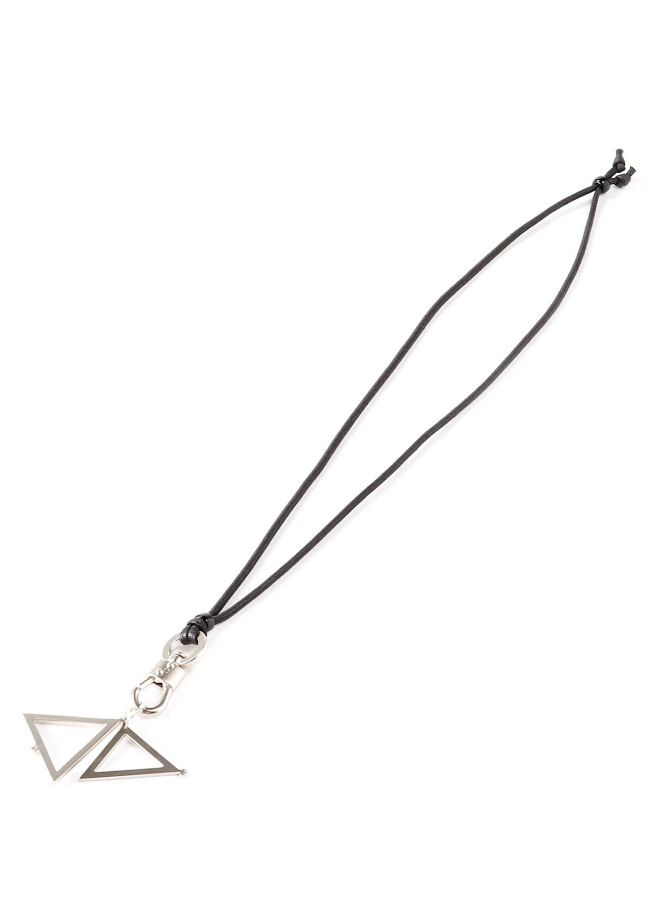 Brass Triangle Necklace