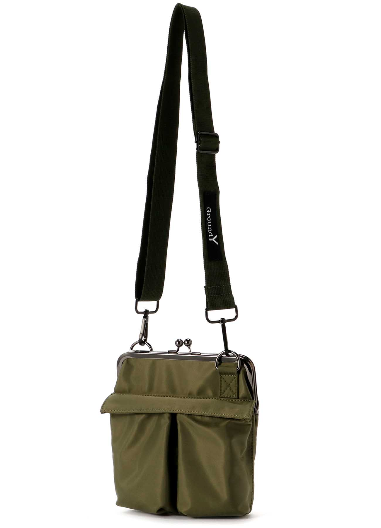 Small Helmet Bag with Clasp