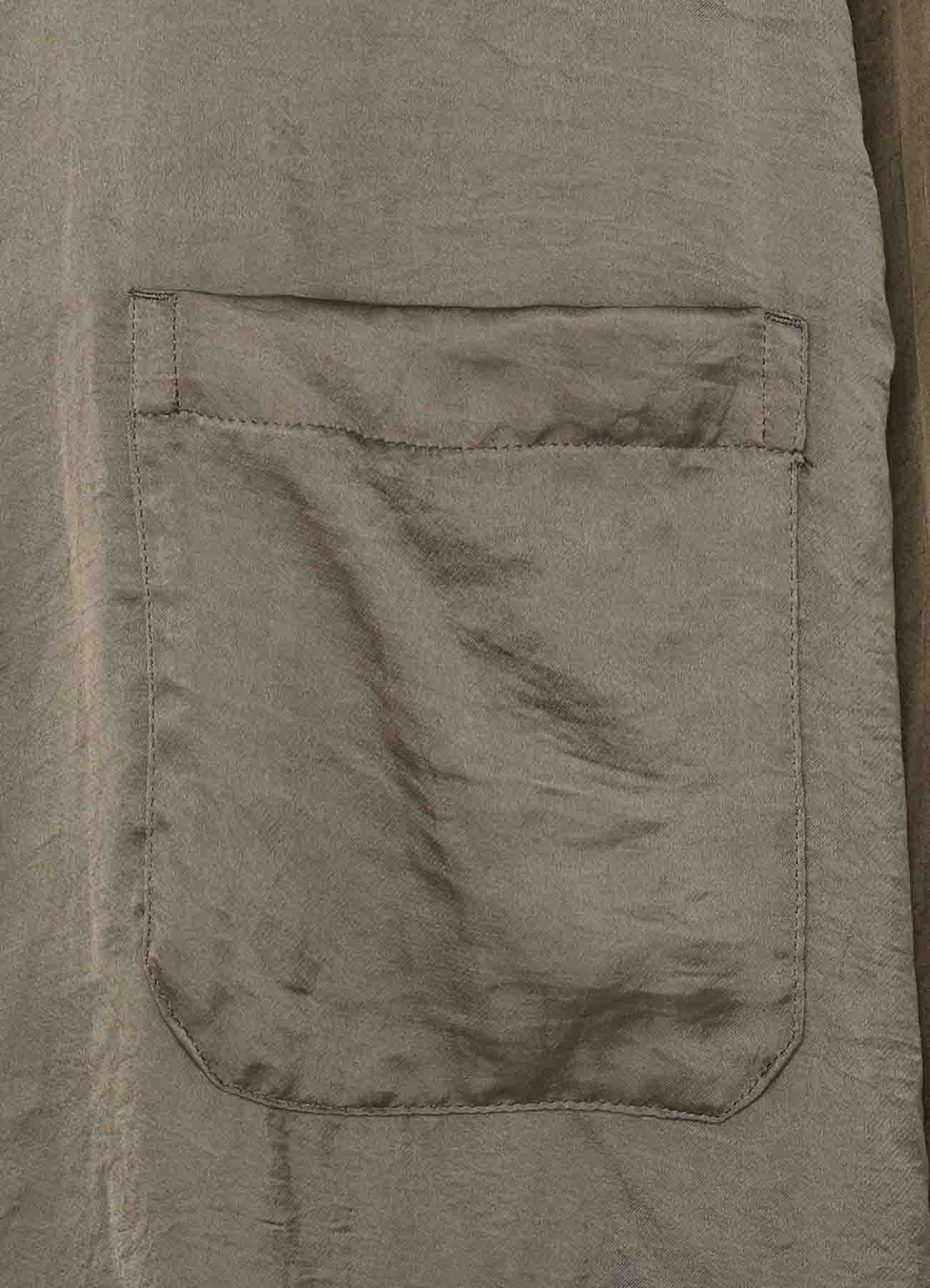 Garment Dye Square Shirt