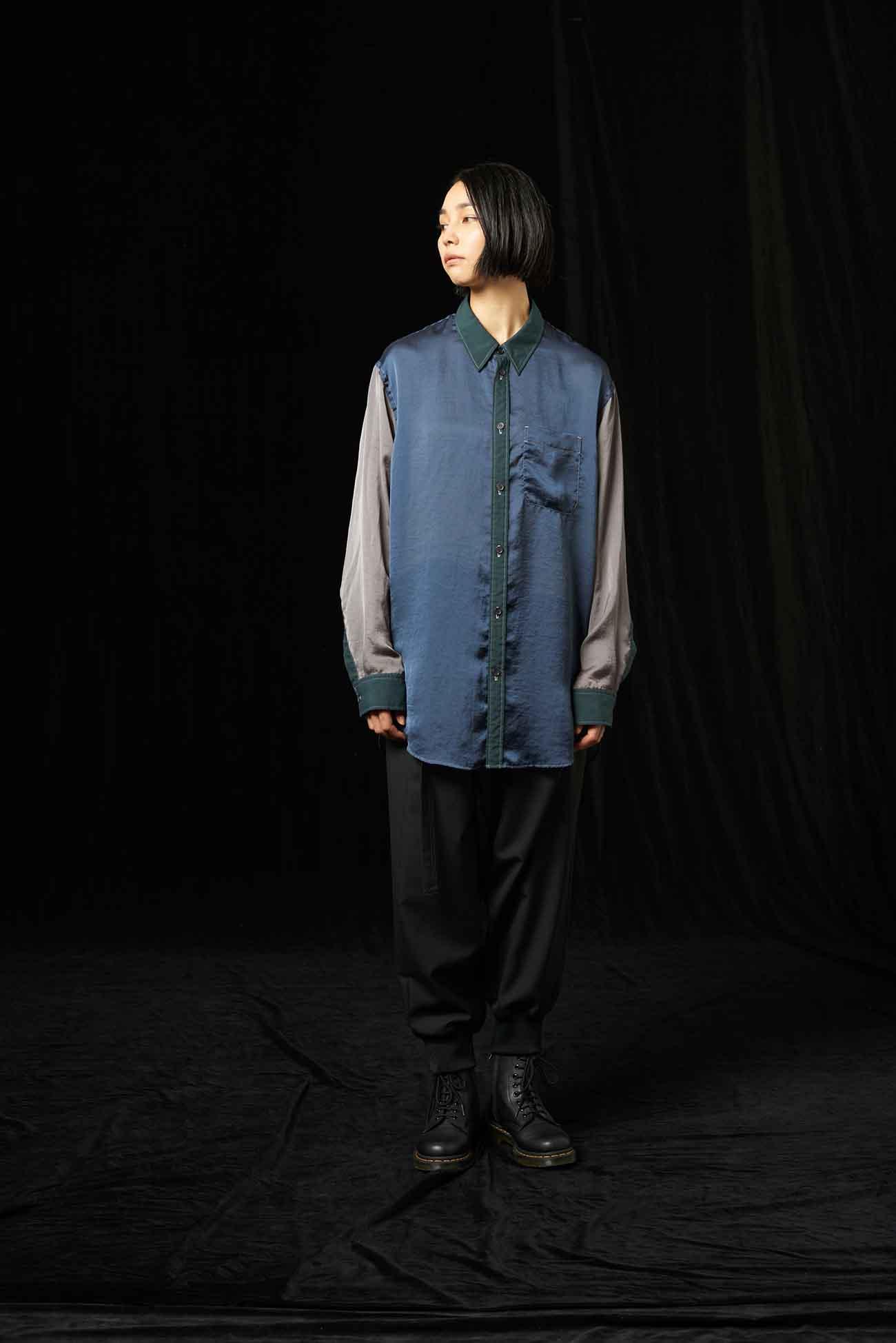 Garment Dye Collar Shirt