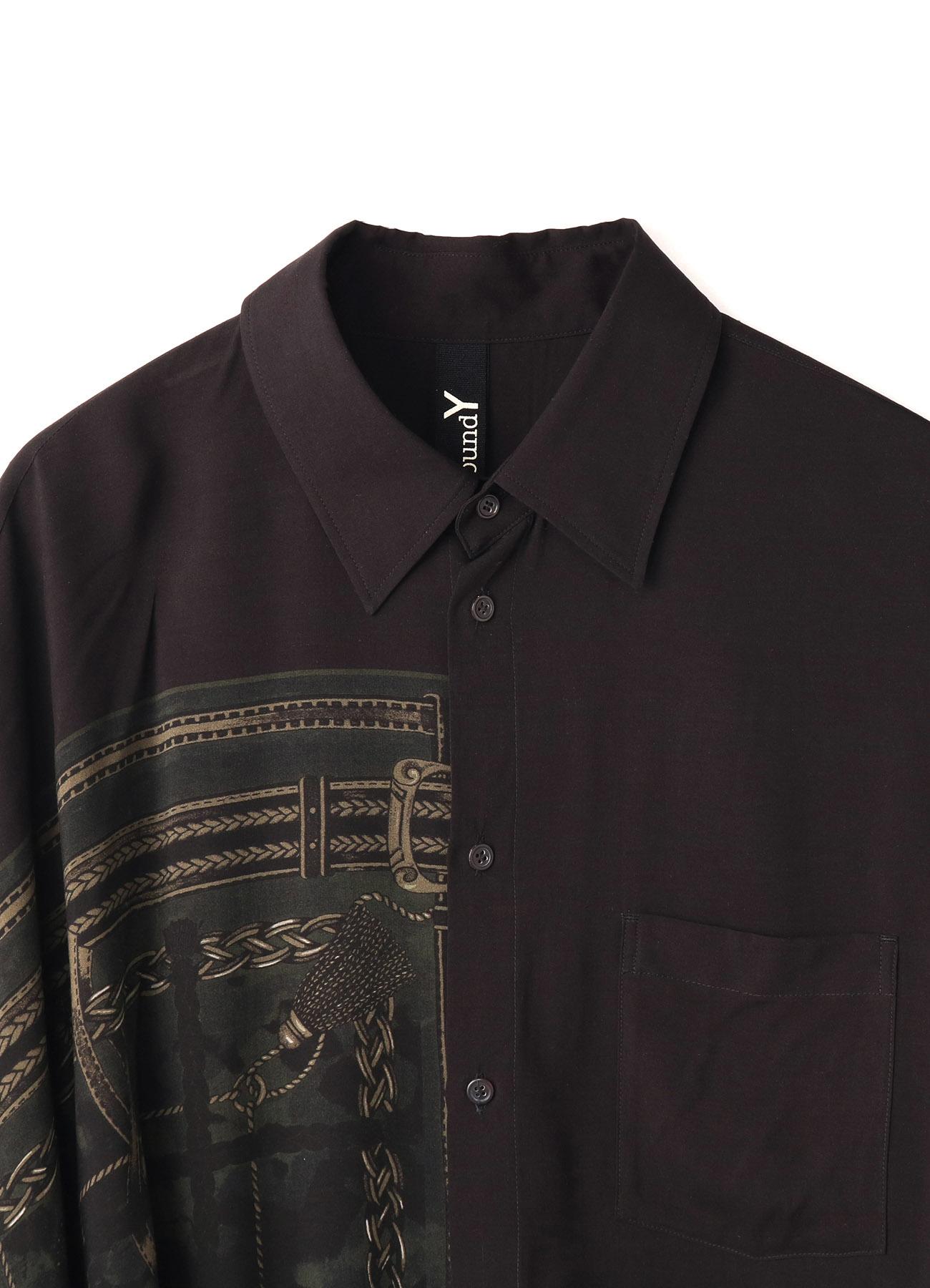 Rayon Bandana Pattern B Cloak Docking Shirt