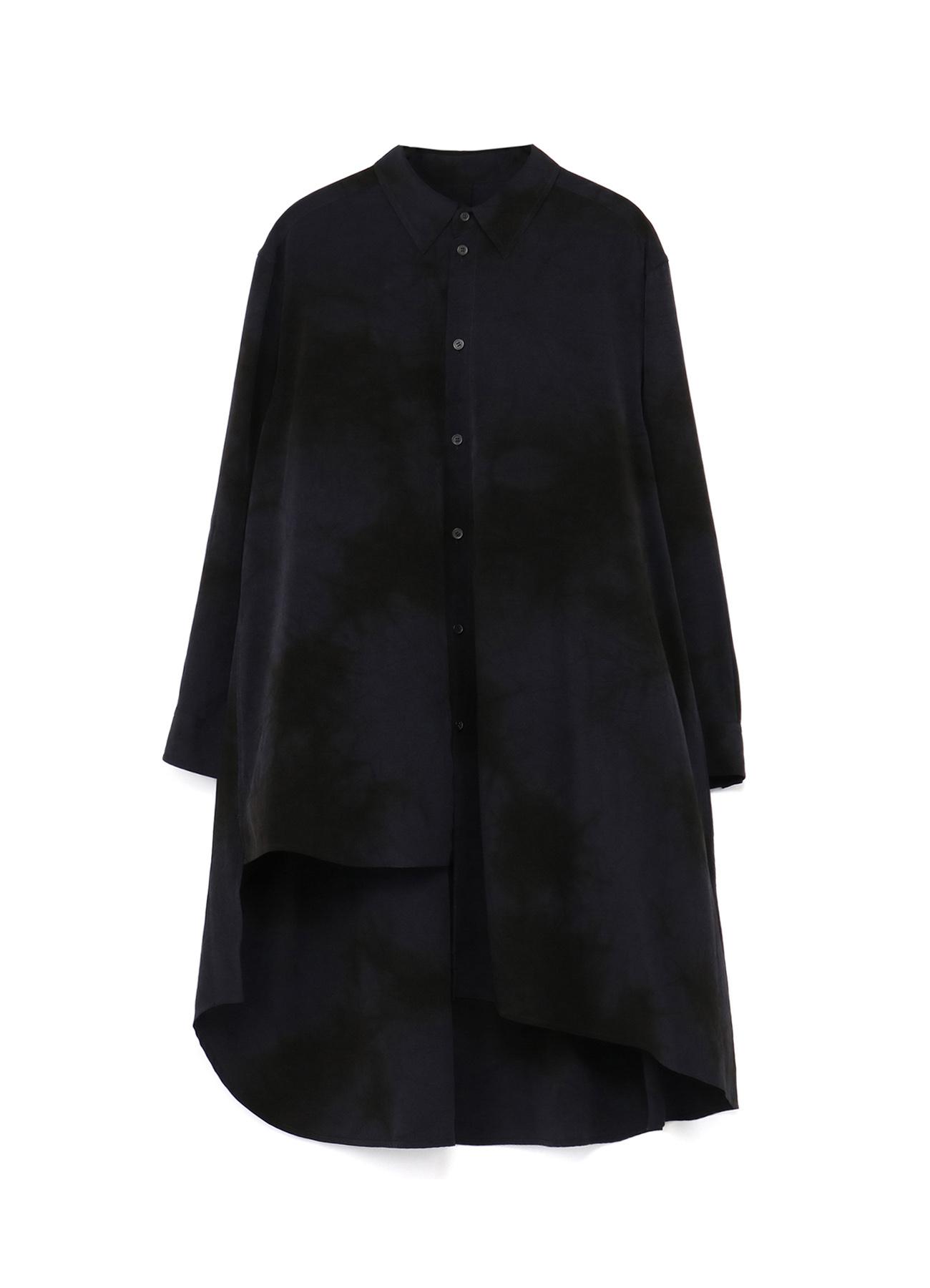 T/A Vintage Decyne Uneven Dyeing Big Asymmetric Shirt