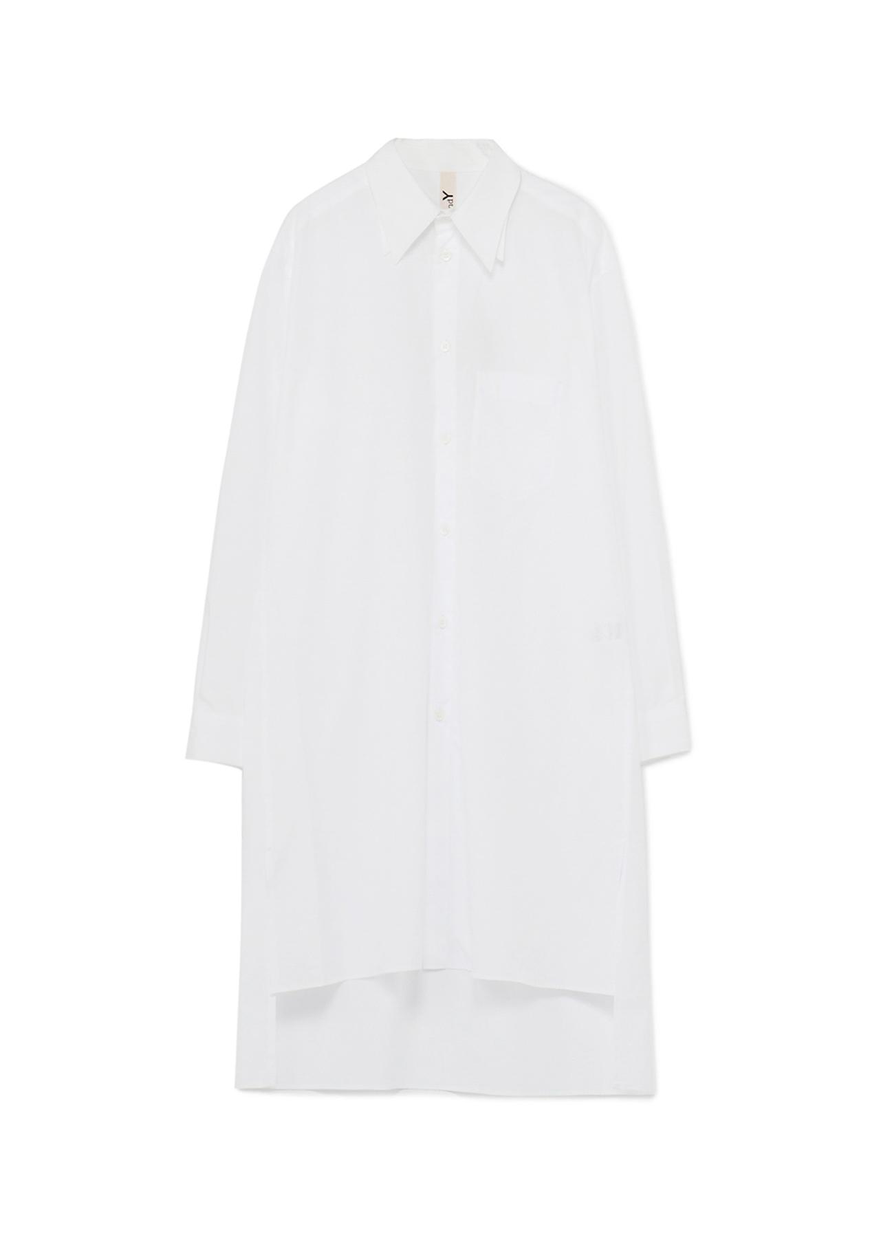 100/2 Cotton Broad Double Collar Long Shirt
