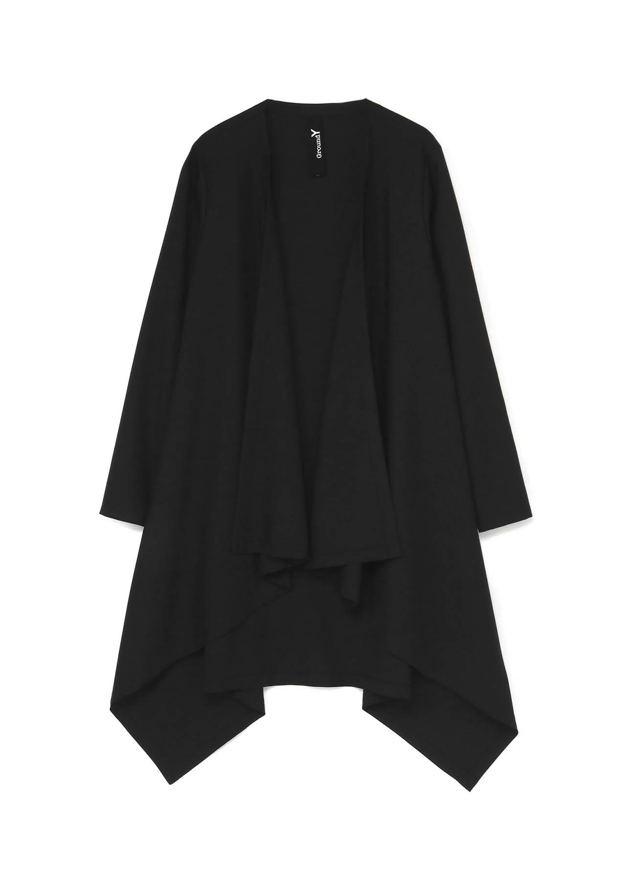 T/W Gabardine Long Drape Jacket