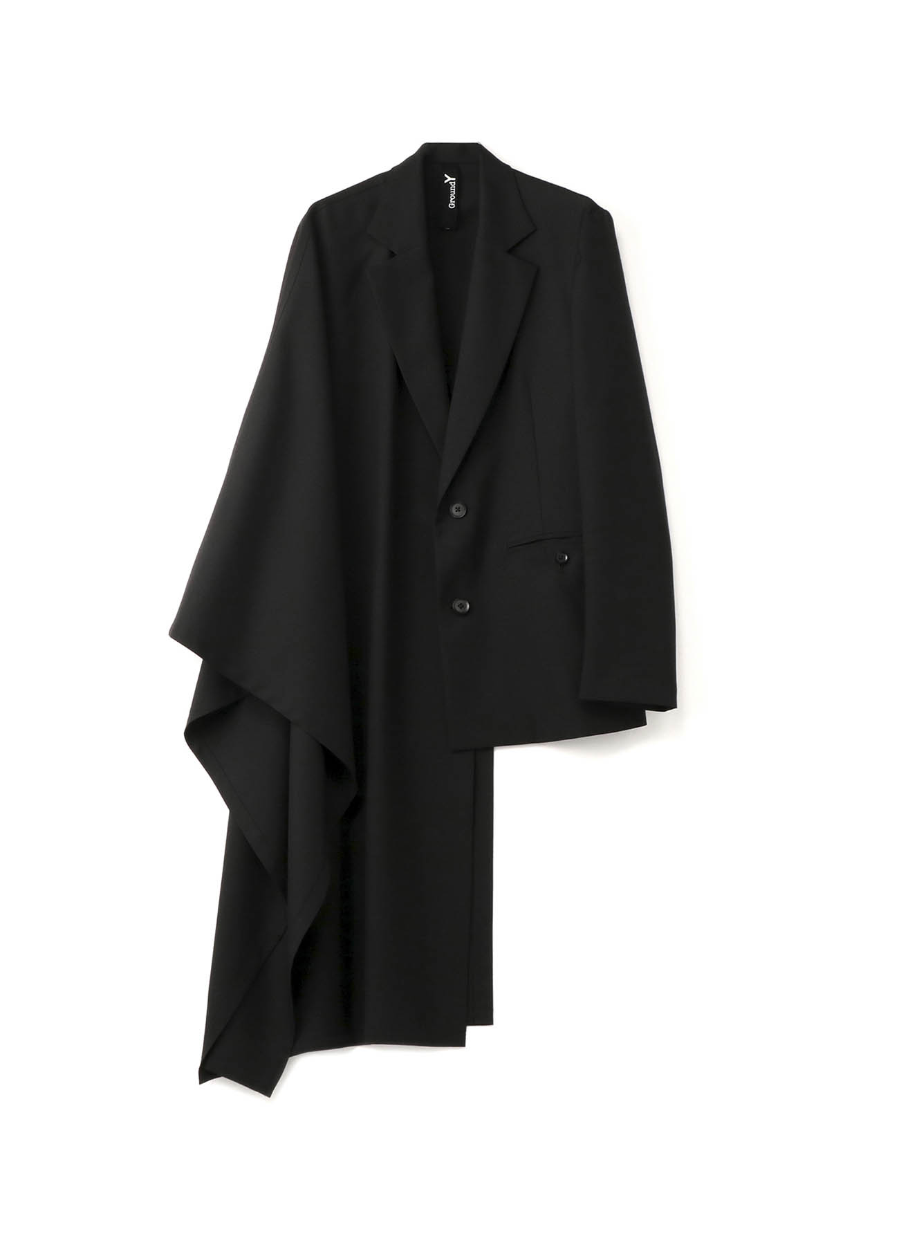 T/W Gabardine Cloak Docking Jacket