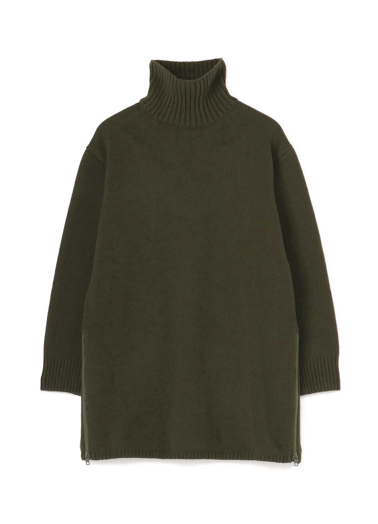 SLH Knit Turtleneck Zipper