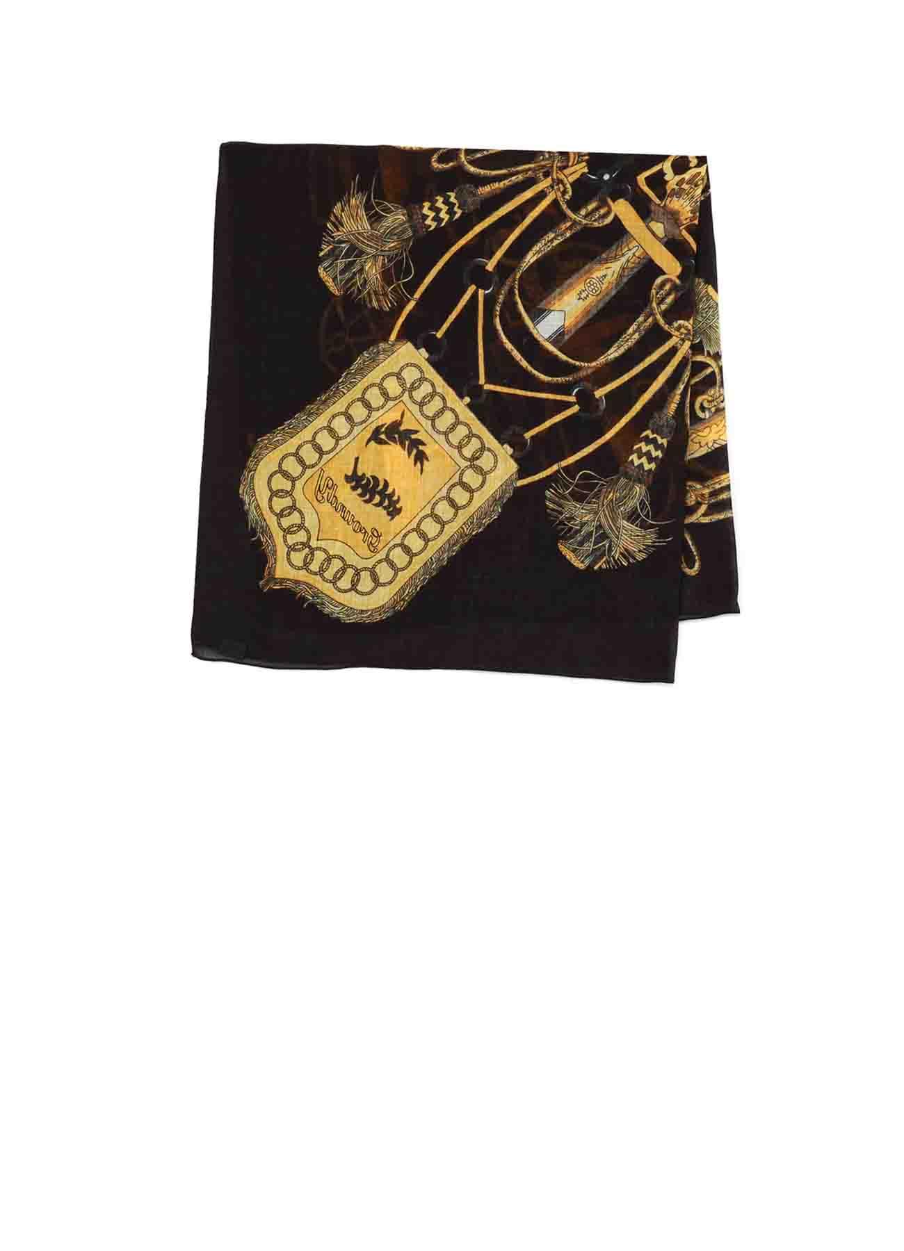 Bandana Pattern Scarf [logo]