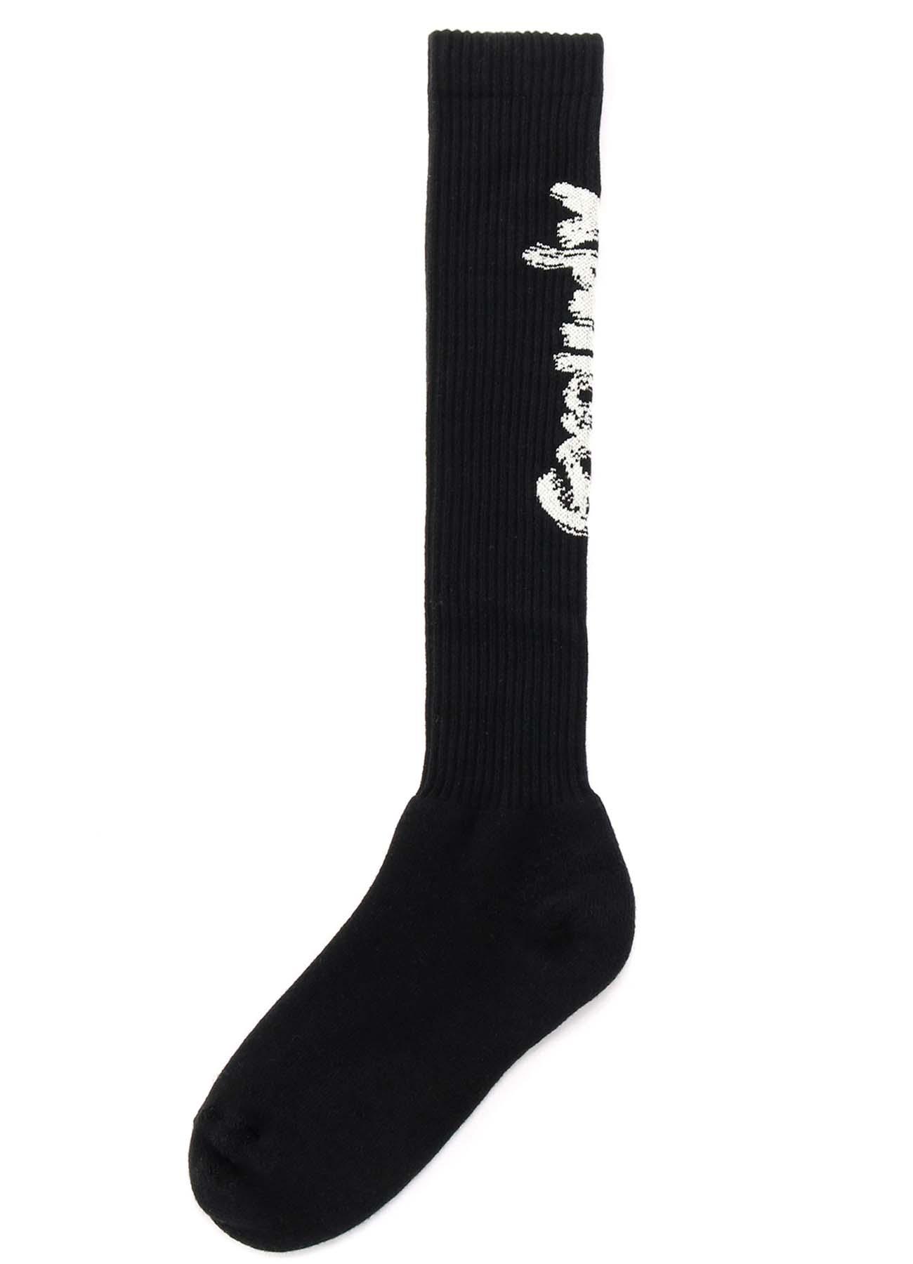 Rib High Socks Ground Y Logo
