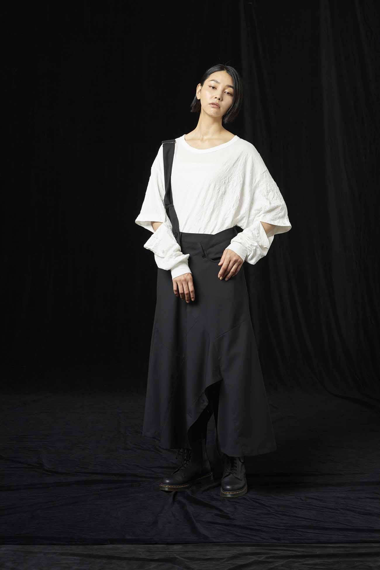T/W Gabardine Shoulder Pants Skirt