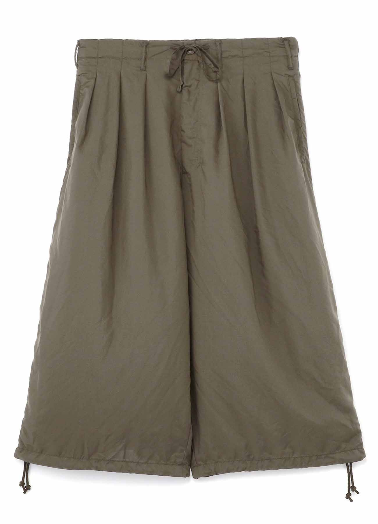 Garment Dye Collar Balloon Pants