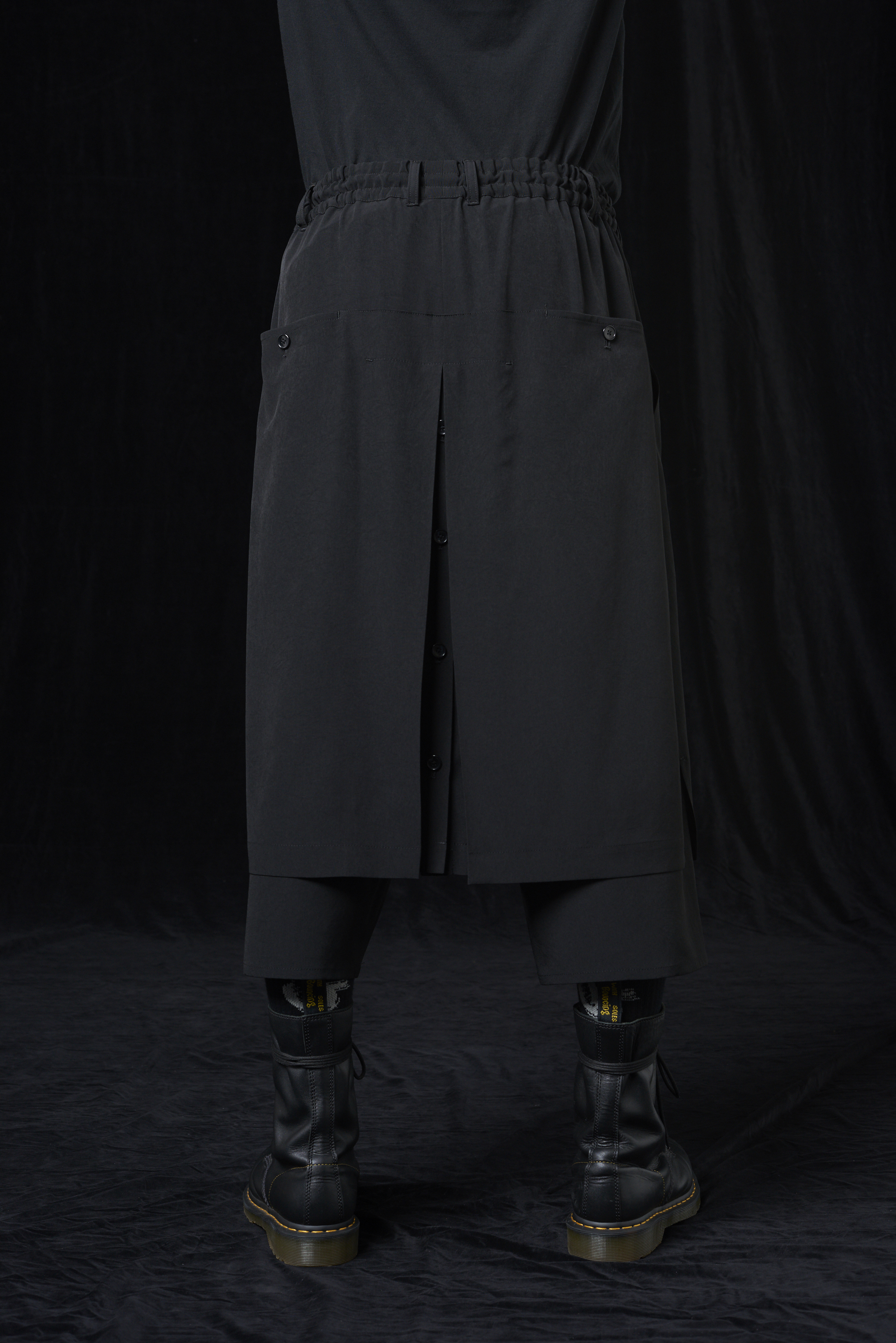 T/A Vintage Decyne Wrap Skirt Pants Type1