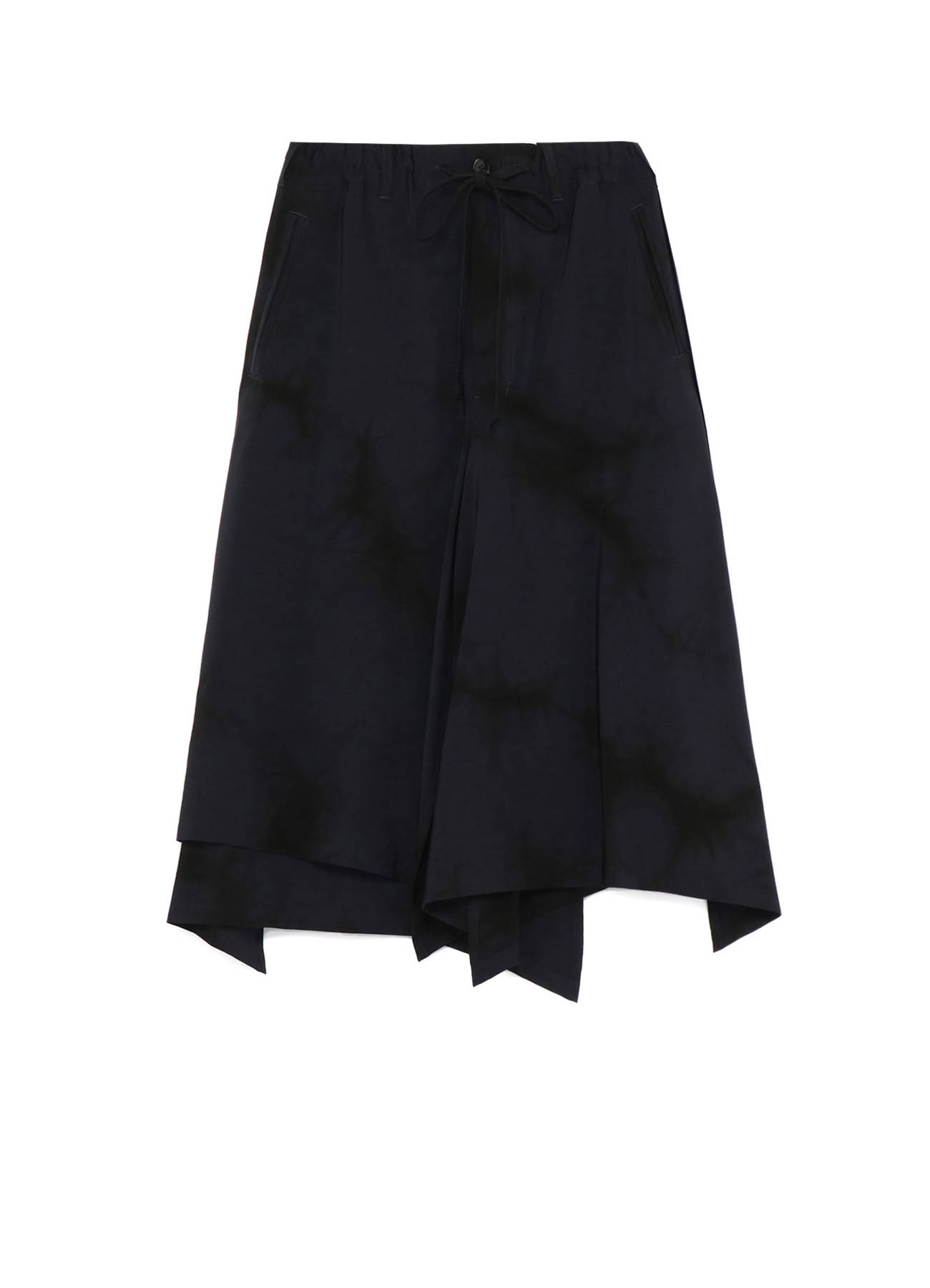 T/A Vintage Decyne Uneven Dyeing Pants Skirt