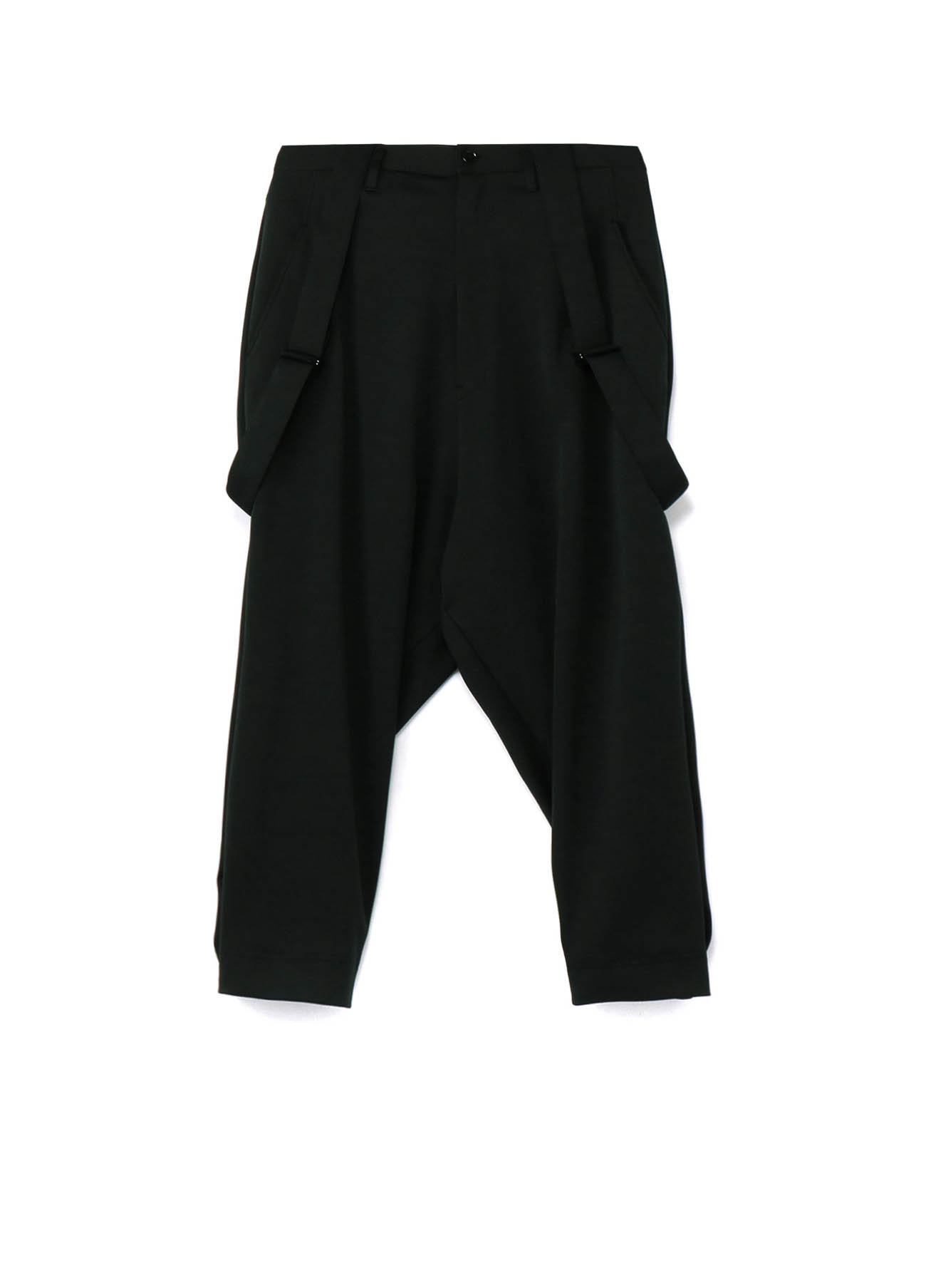30/Pe Jersey Suspenders Wide Pants