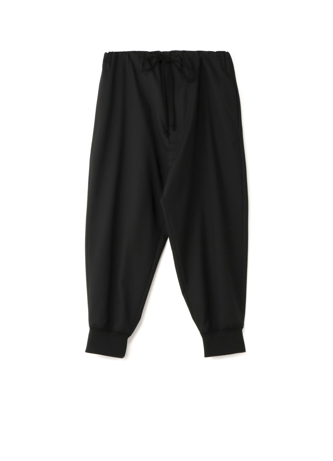 T/W Gabardine Waist String Rib Pants