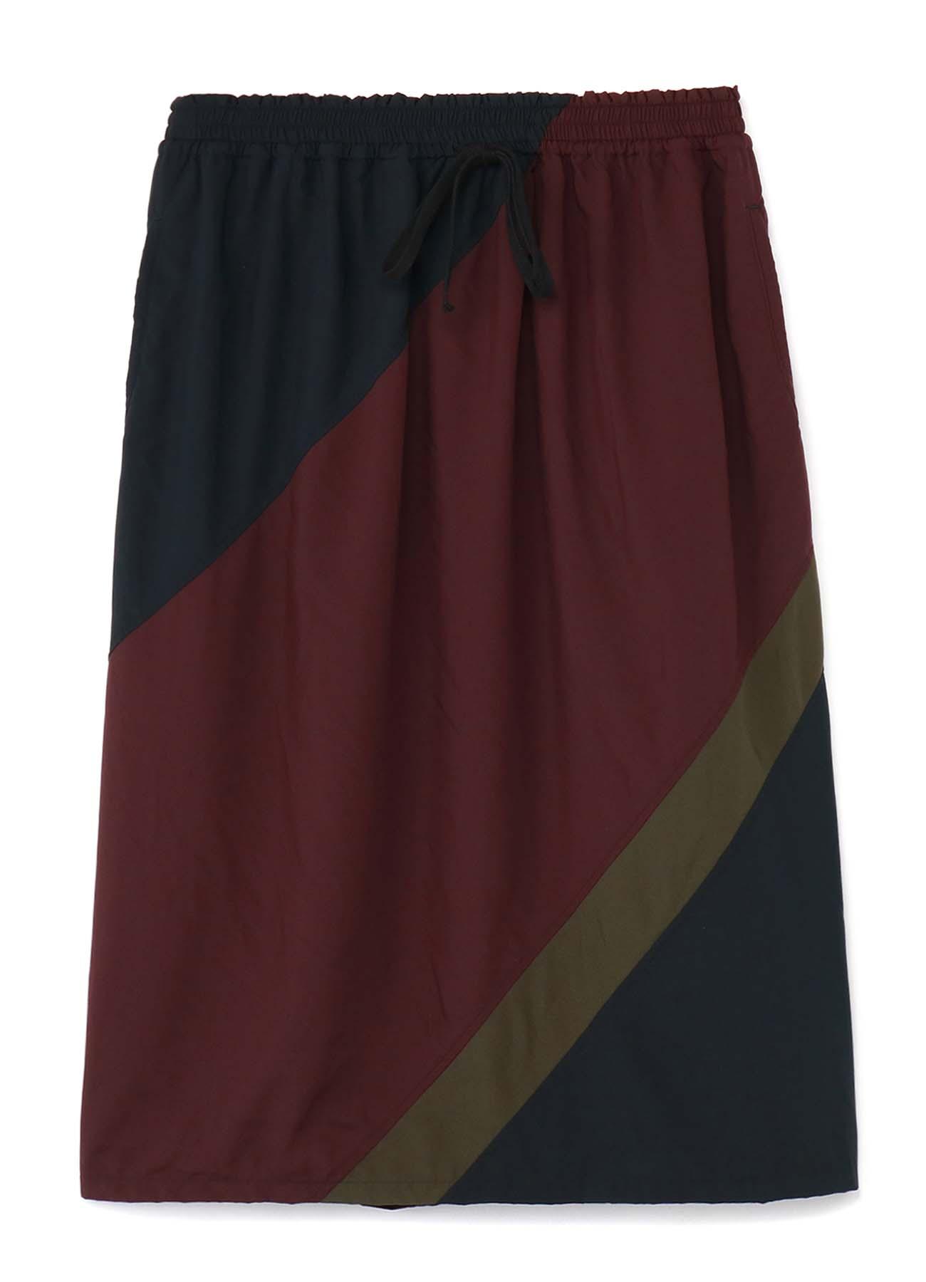 Garment Dye Waist String Skirt