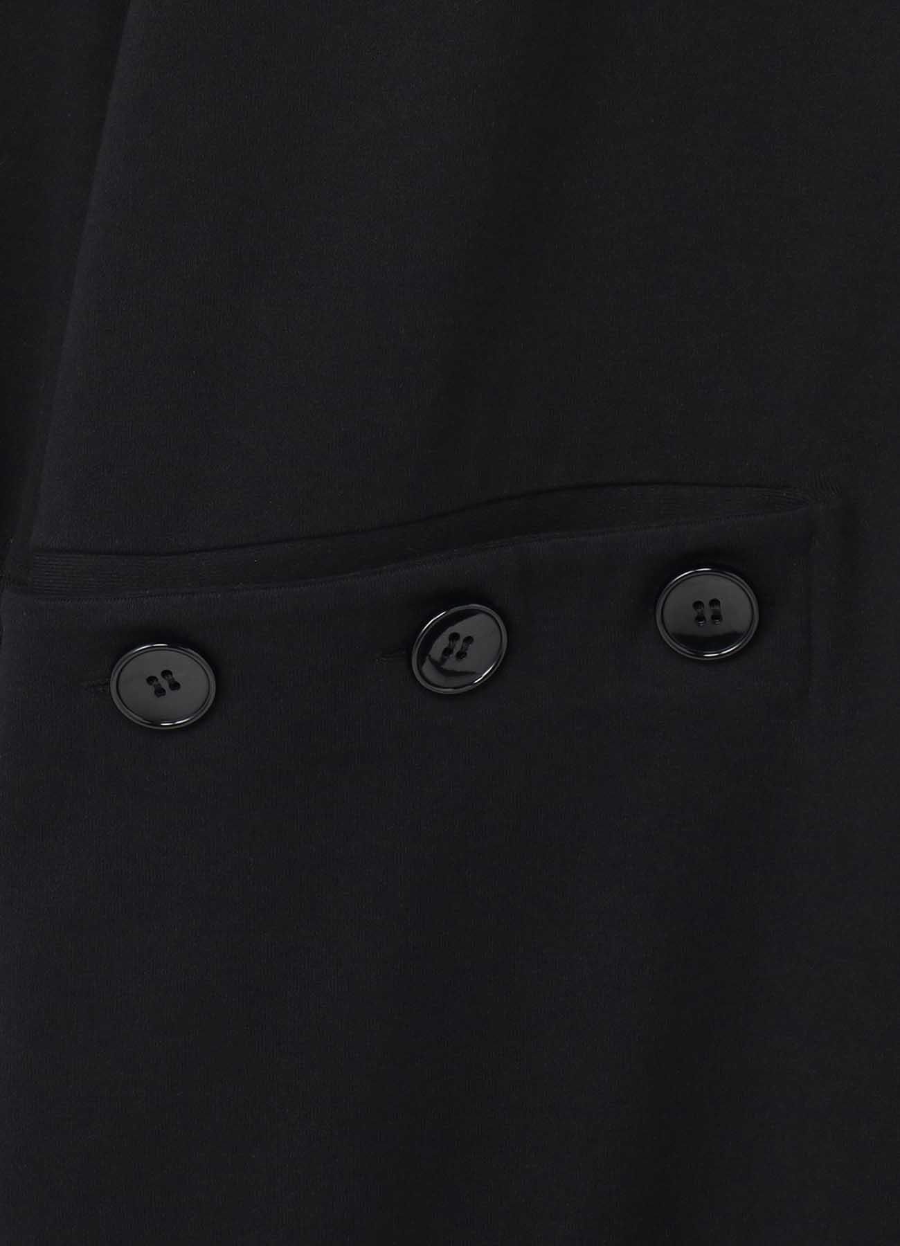 Mini Fleece Pile Button Opened Long Sweat