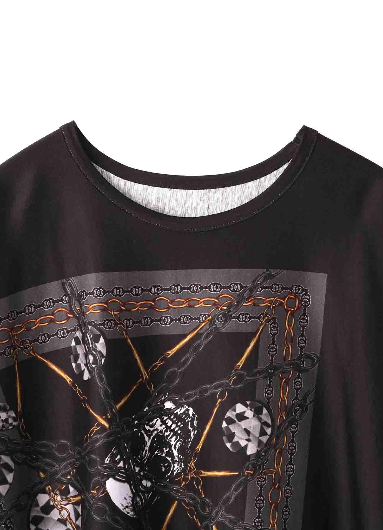 Bandana Pattern E Cotton Jersey Poncho Cut Sew