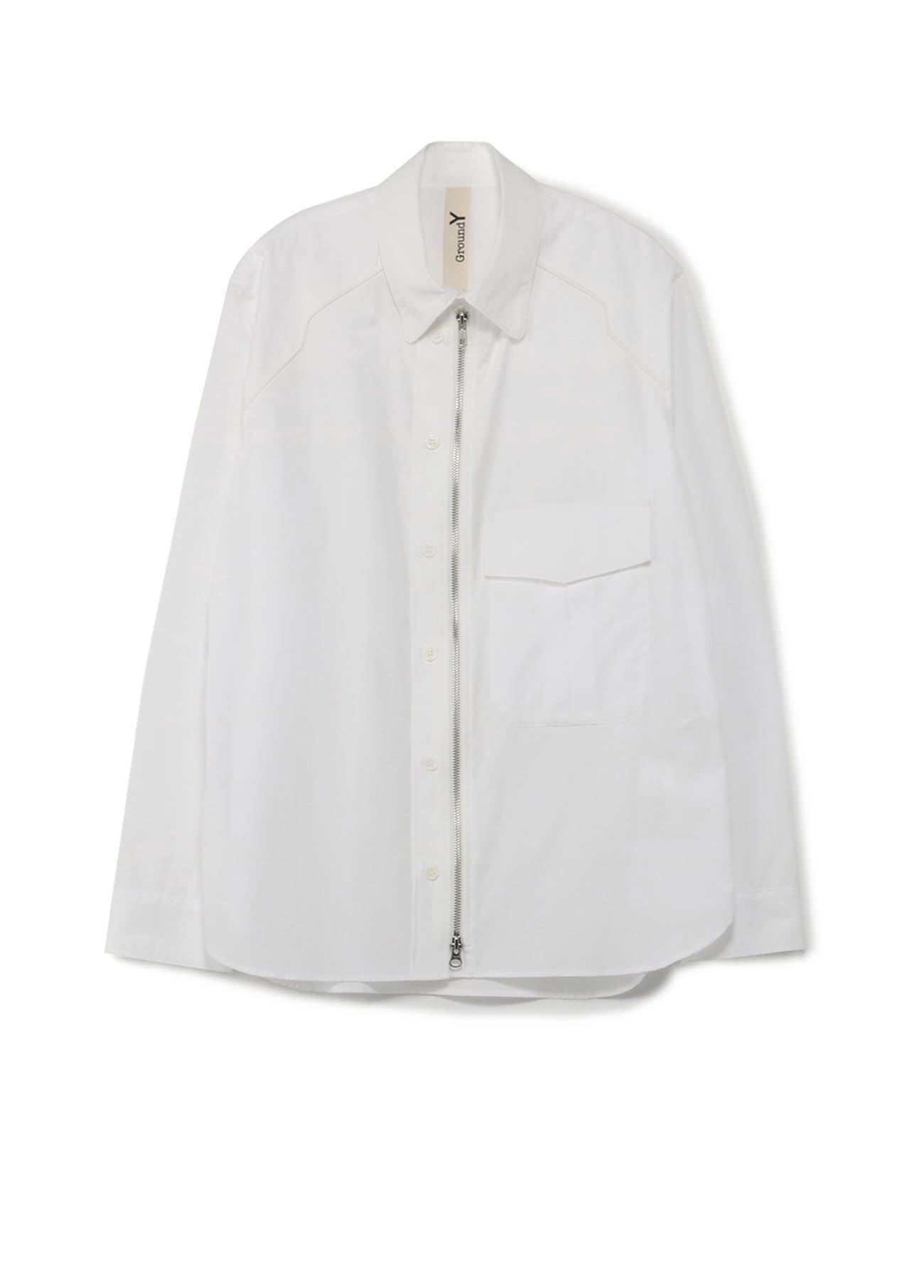 100/2 Cotton Broad Piping Shirt