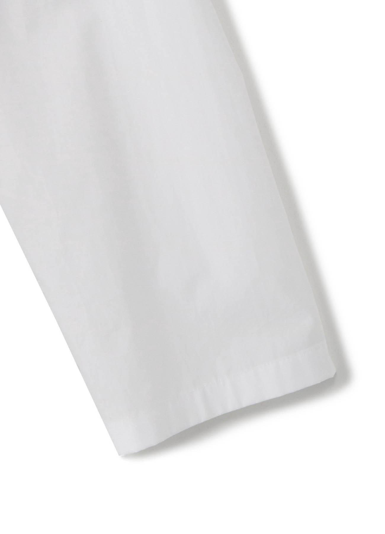 拼接长款衬衫