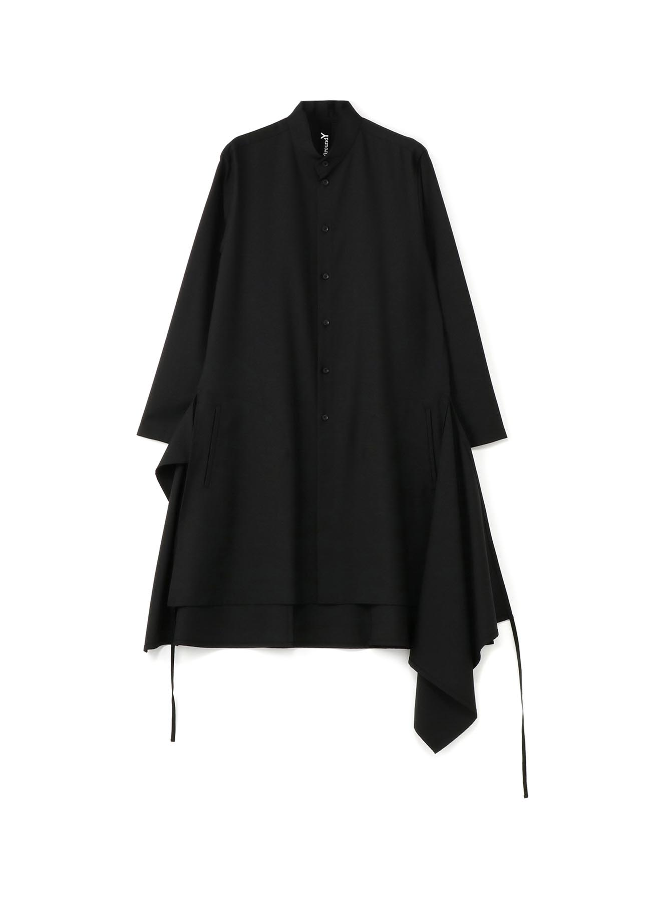 T/W Gabardine Big Sack-cloth Shirt