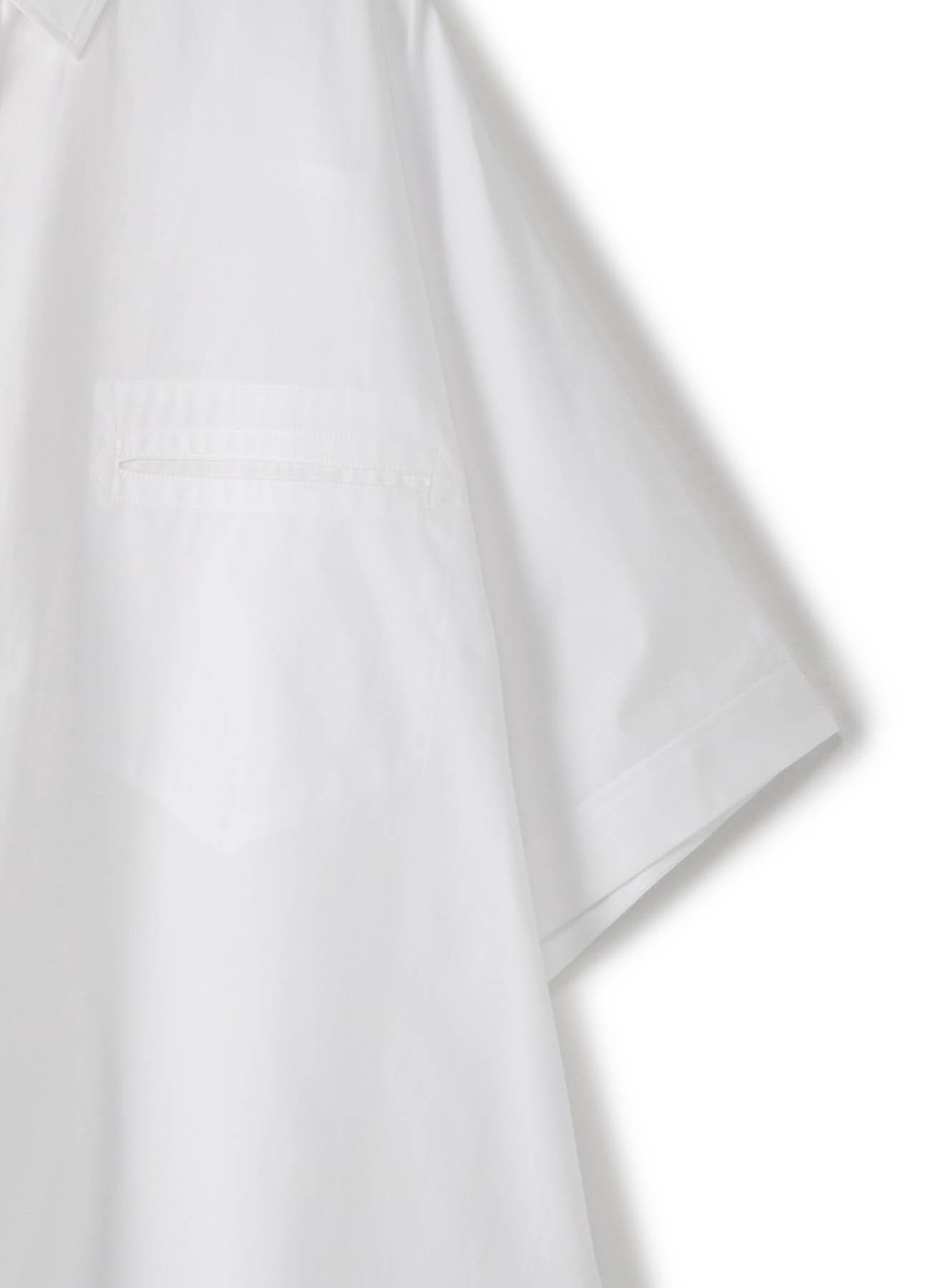 半袖基本款宽松衬衫