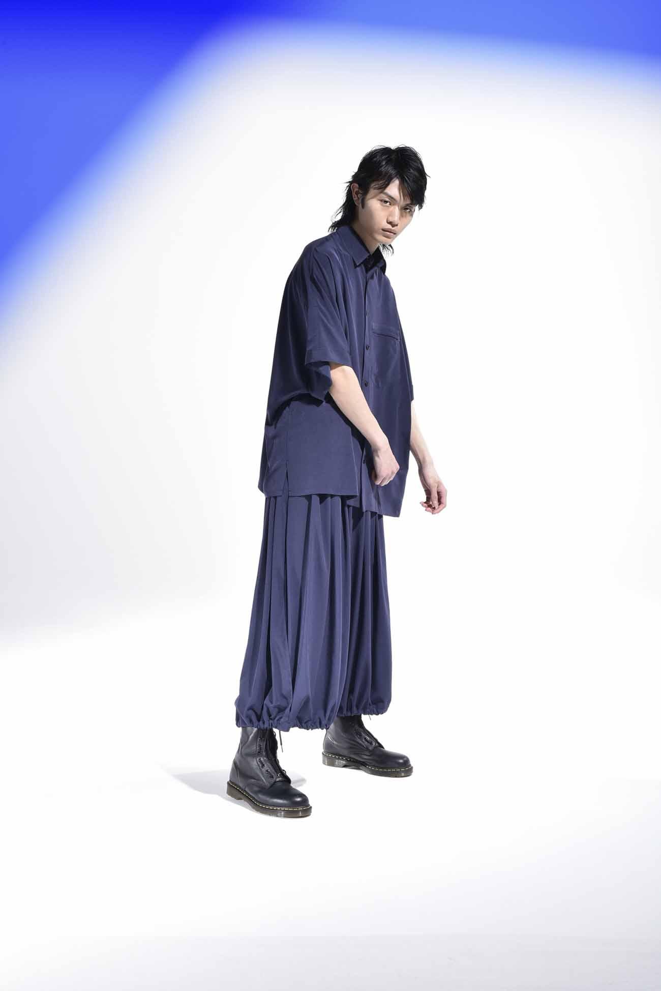 T /复古decyne Dolman短袖衬衫