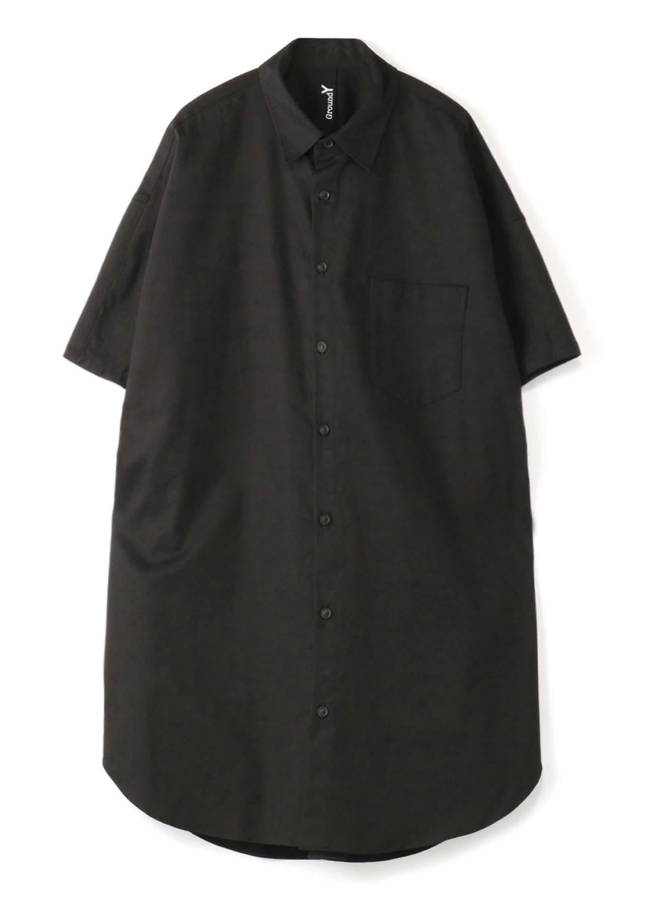 短袖基本款长款衬衫