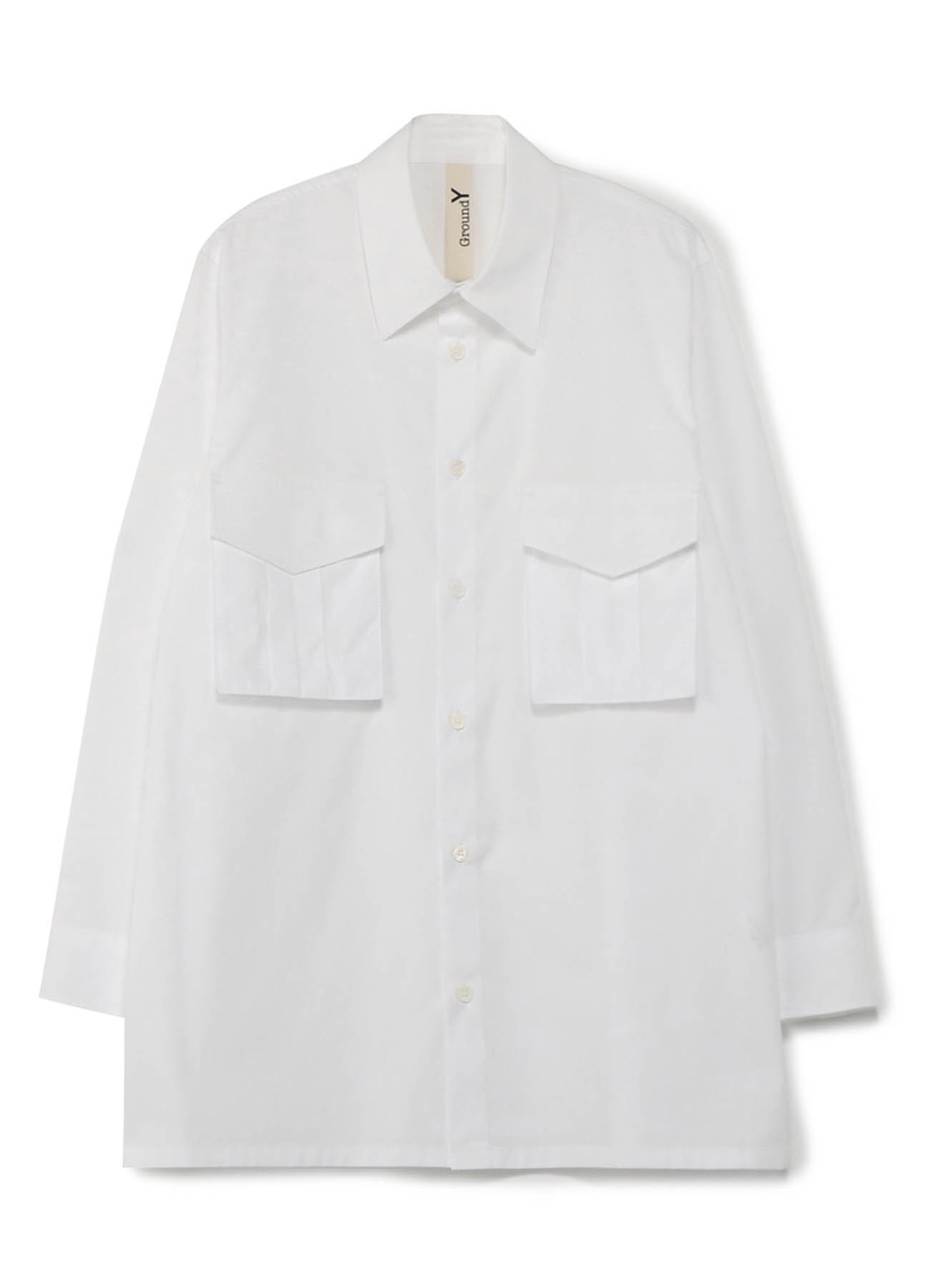 100/2 Cotton Broad Flap Pocket Shirt