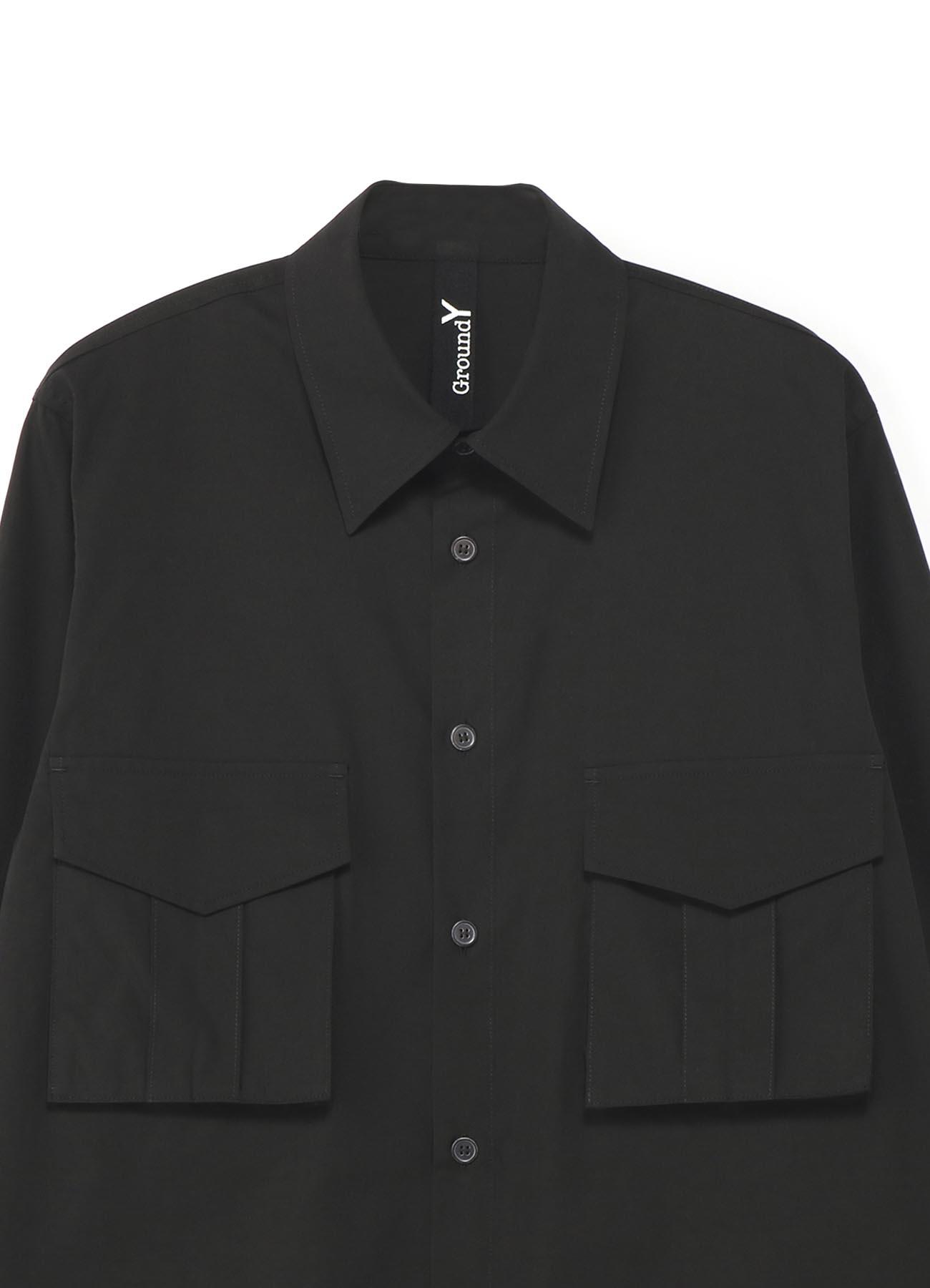 100/2 Cotton Broad Flap Pocket Shirt