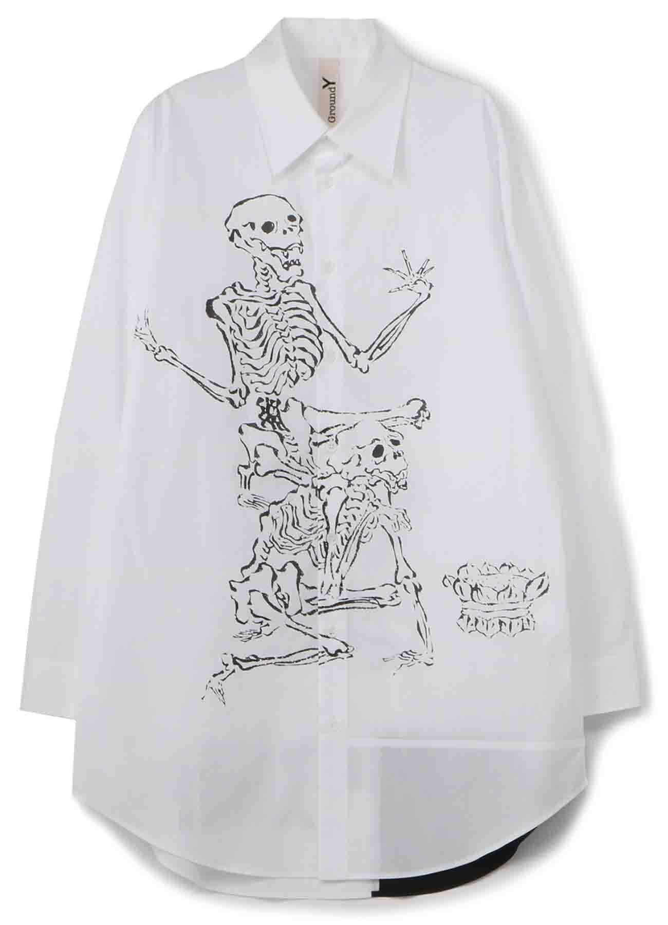 GroundY × 河锅晓斎 联名款衬衫