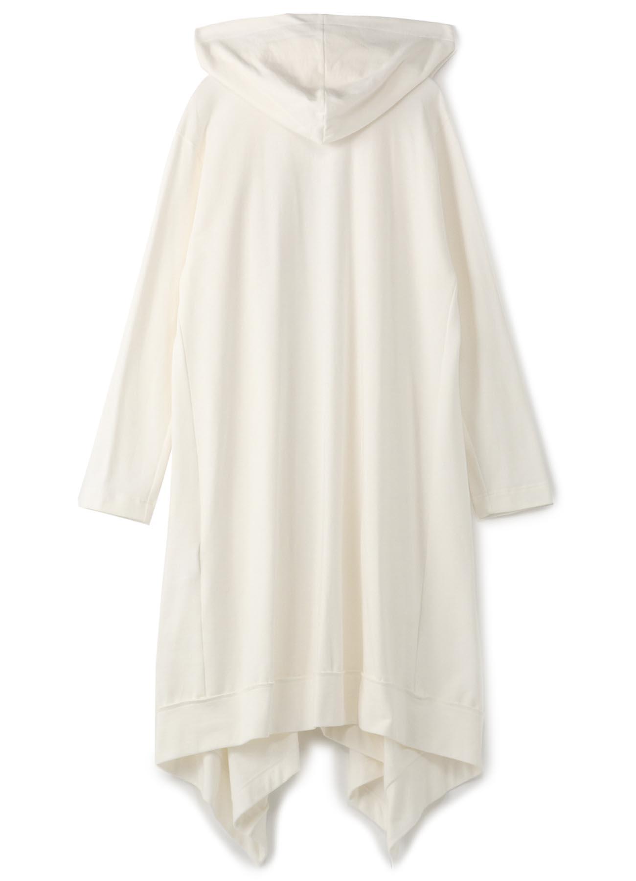 Mini Fleece Drape Hood Cardigan