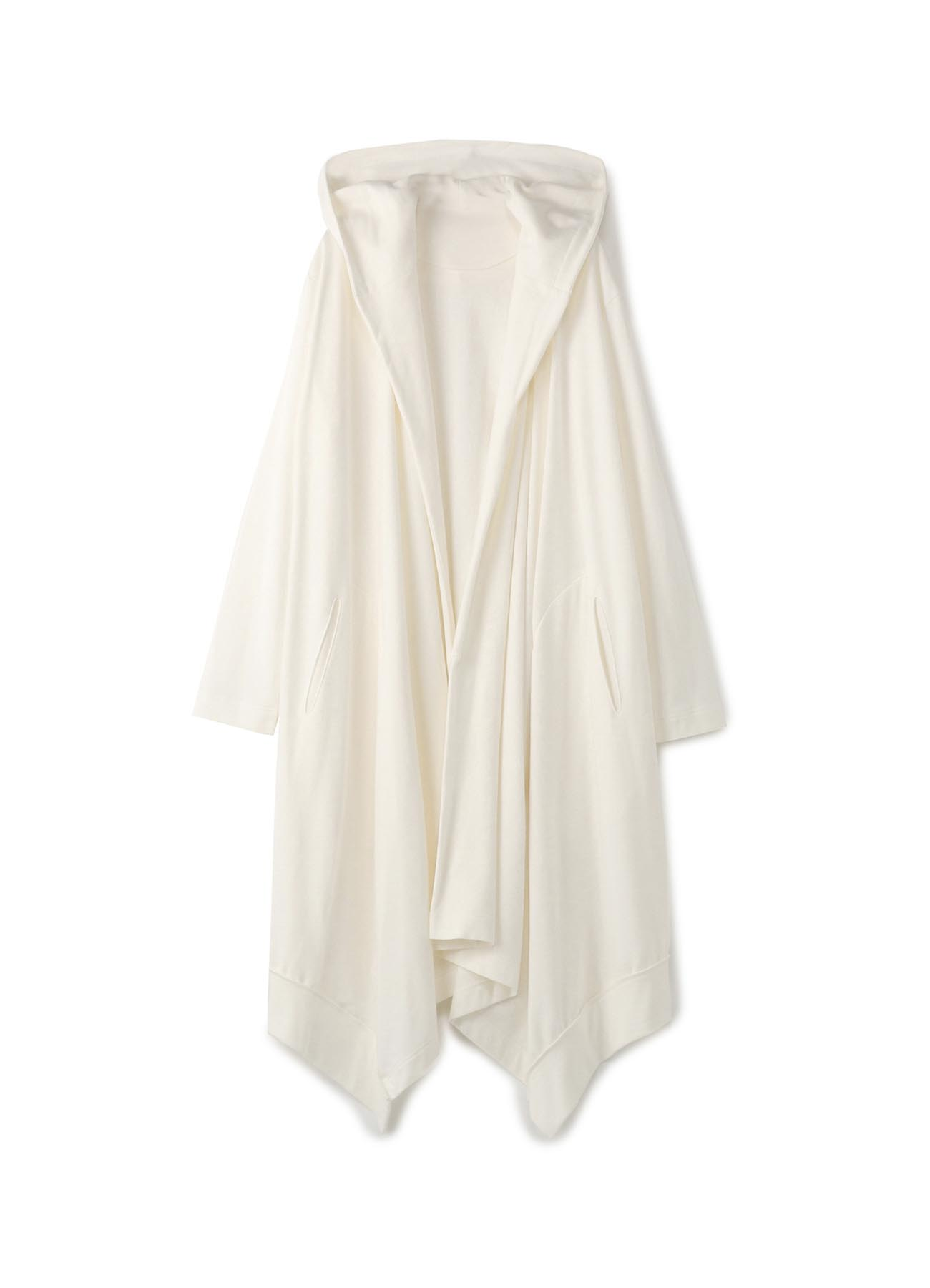 Mini Fleece Drape Hood Cardigan