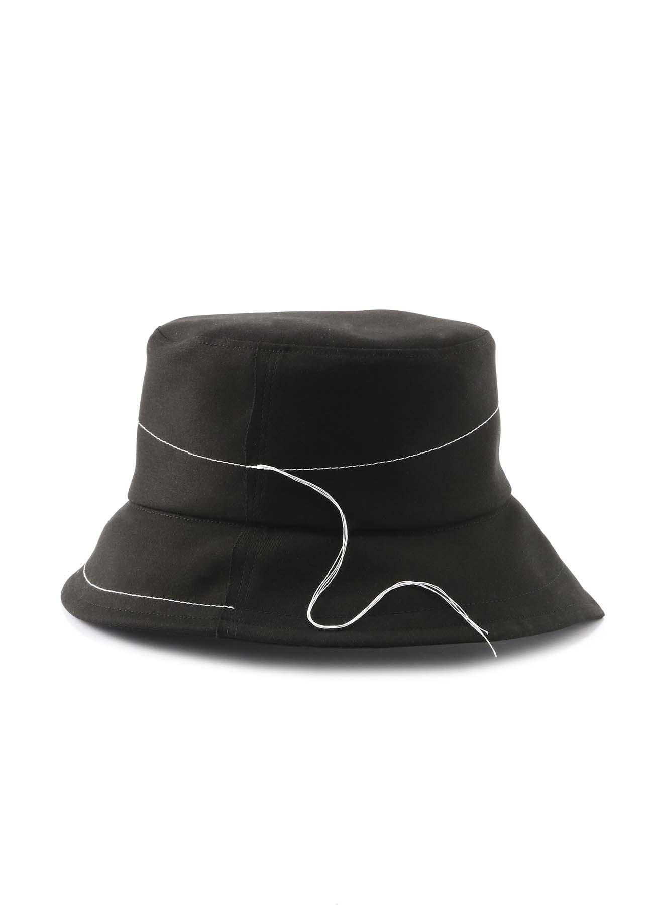 棉制针脚装饰遮阳帽