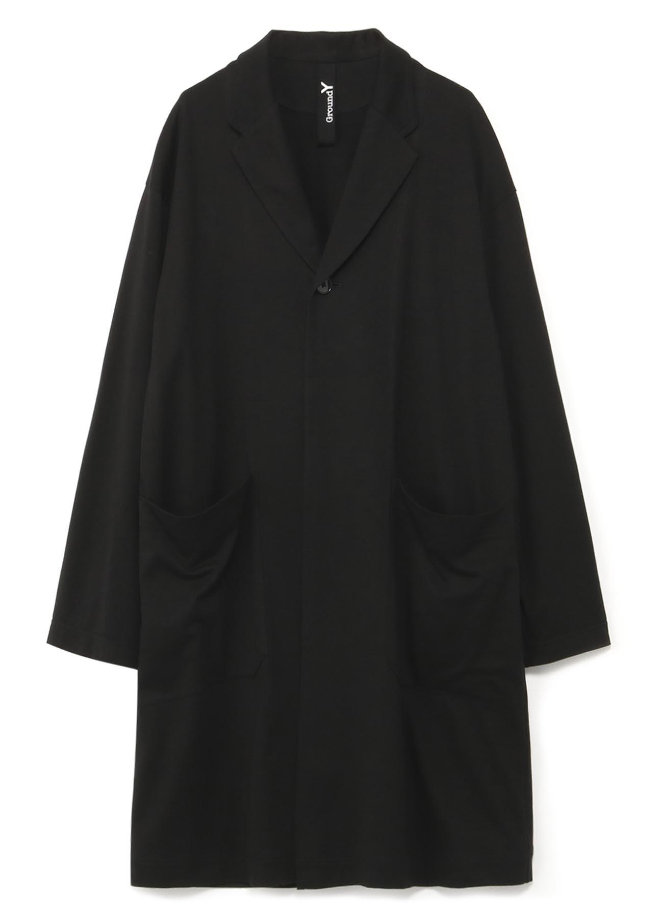 西装领长款衬衫夹克