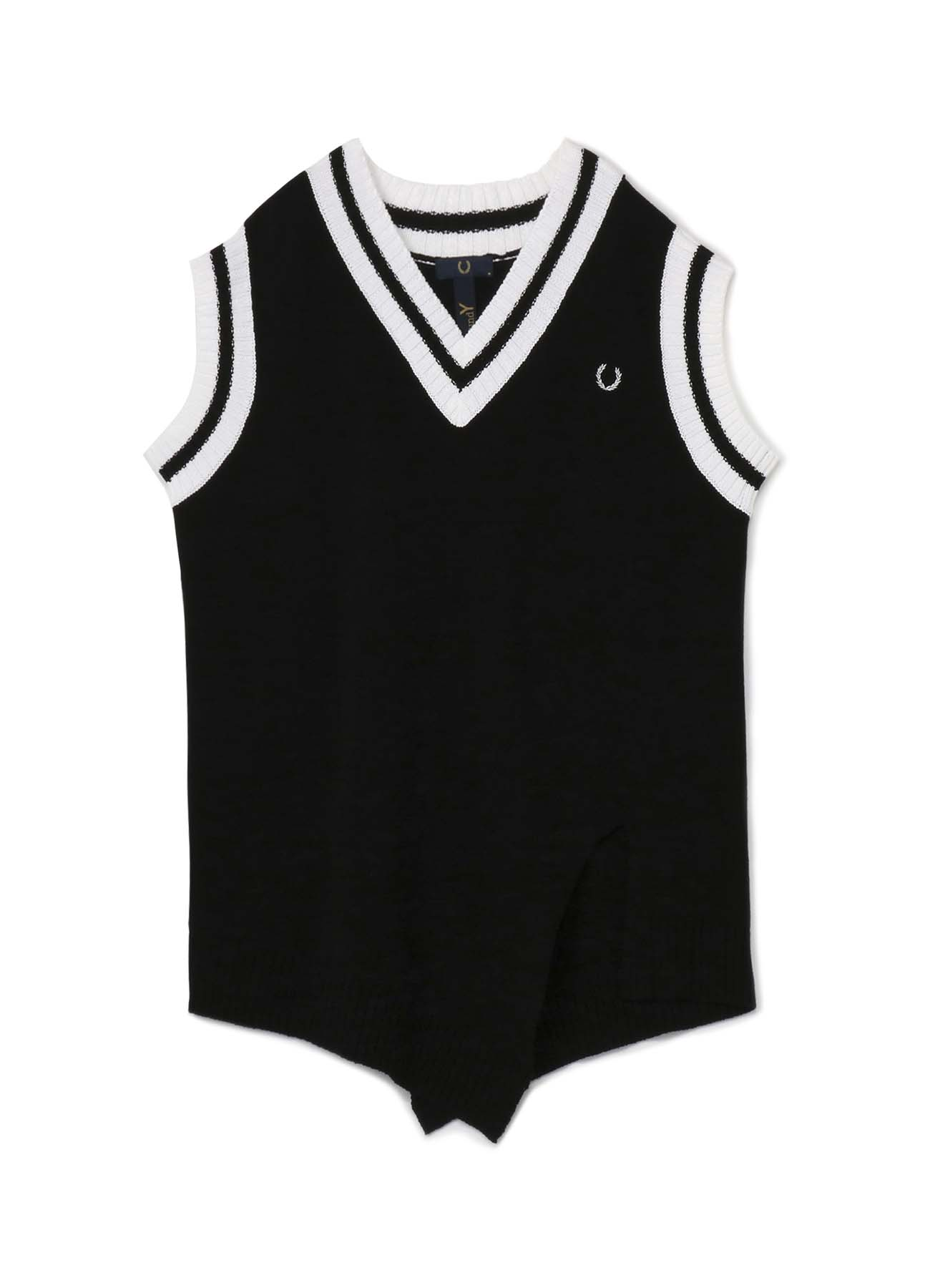 FRED PERRY collaboration Knit Vest