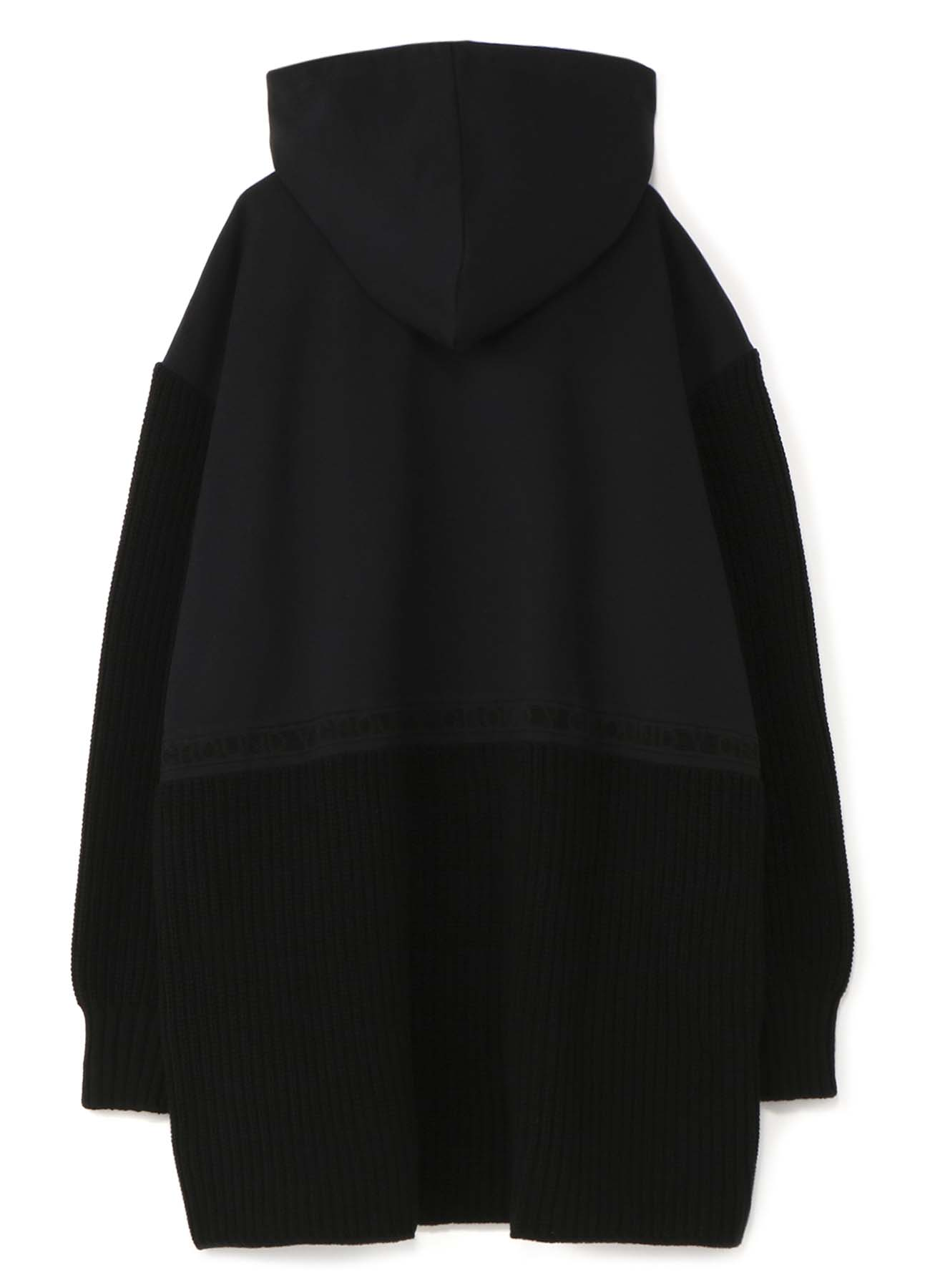FRED PERRY collaboration Knit x Fleece Long Parka (men's)