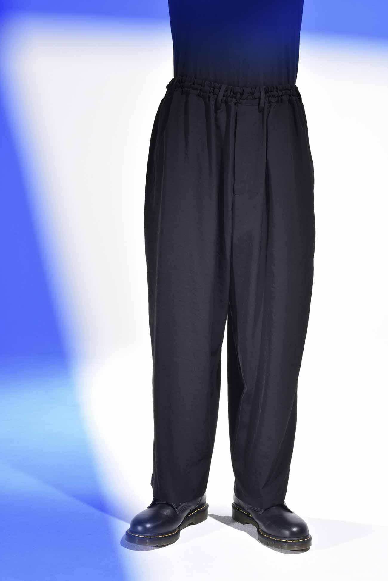 复古风情睡衣风格长裤