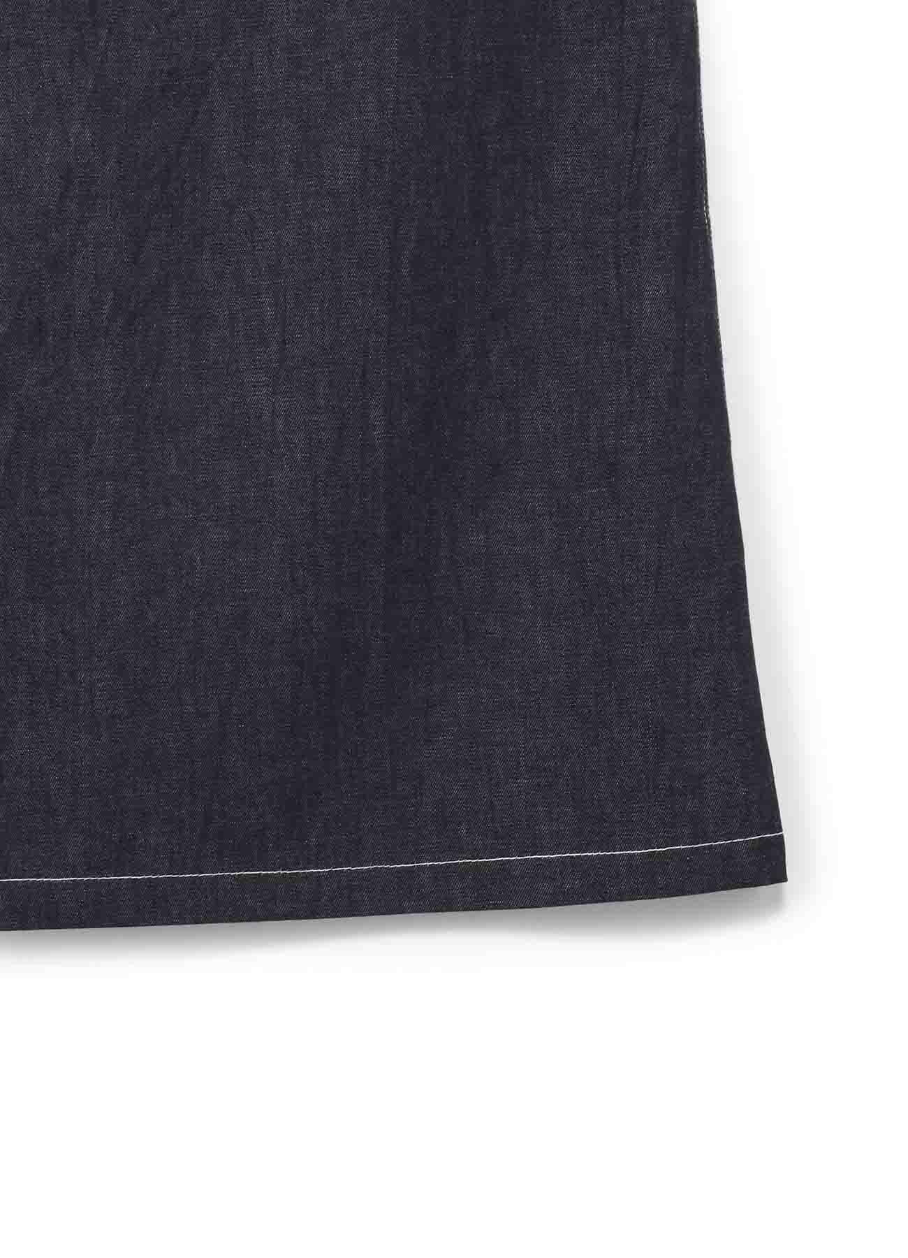 牛仔单侧背带裤