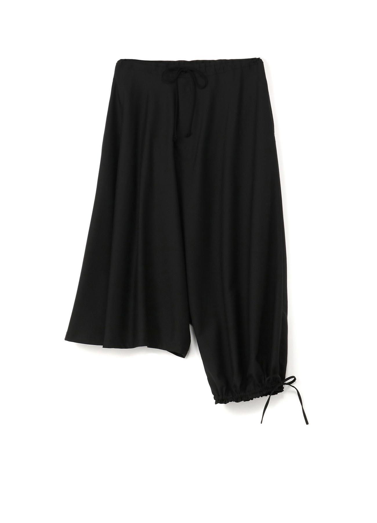 T/W Gabardine Asymmetry Balloon Pants