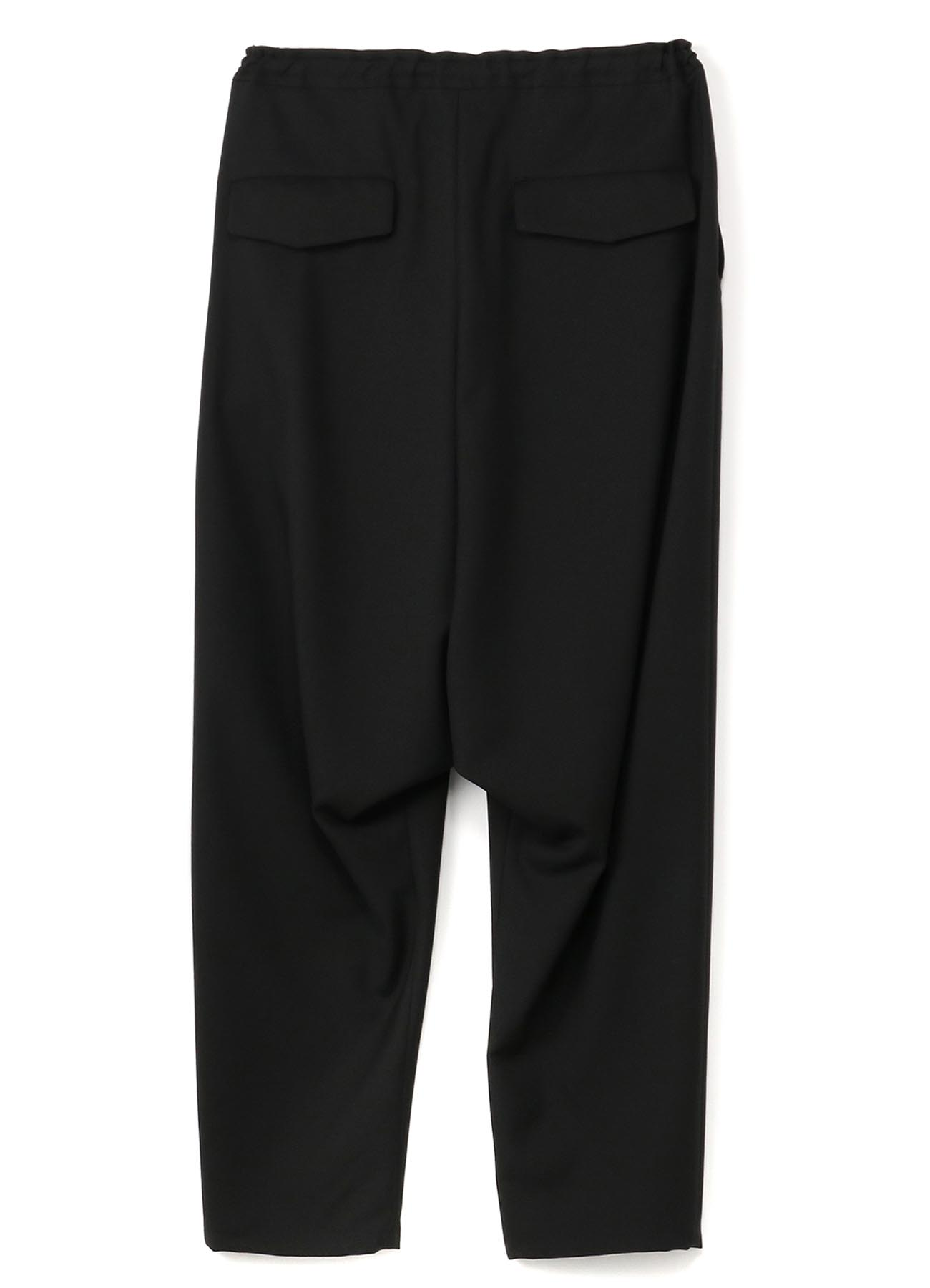 T/W Gabardine Sarouel Straight Pants
