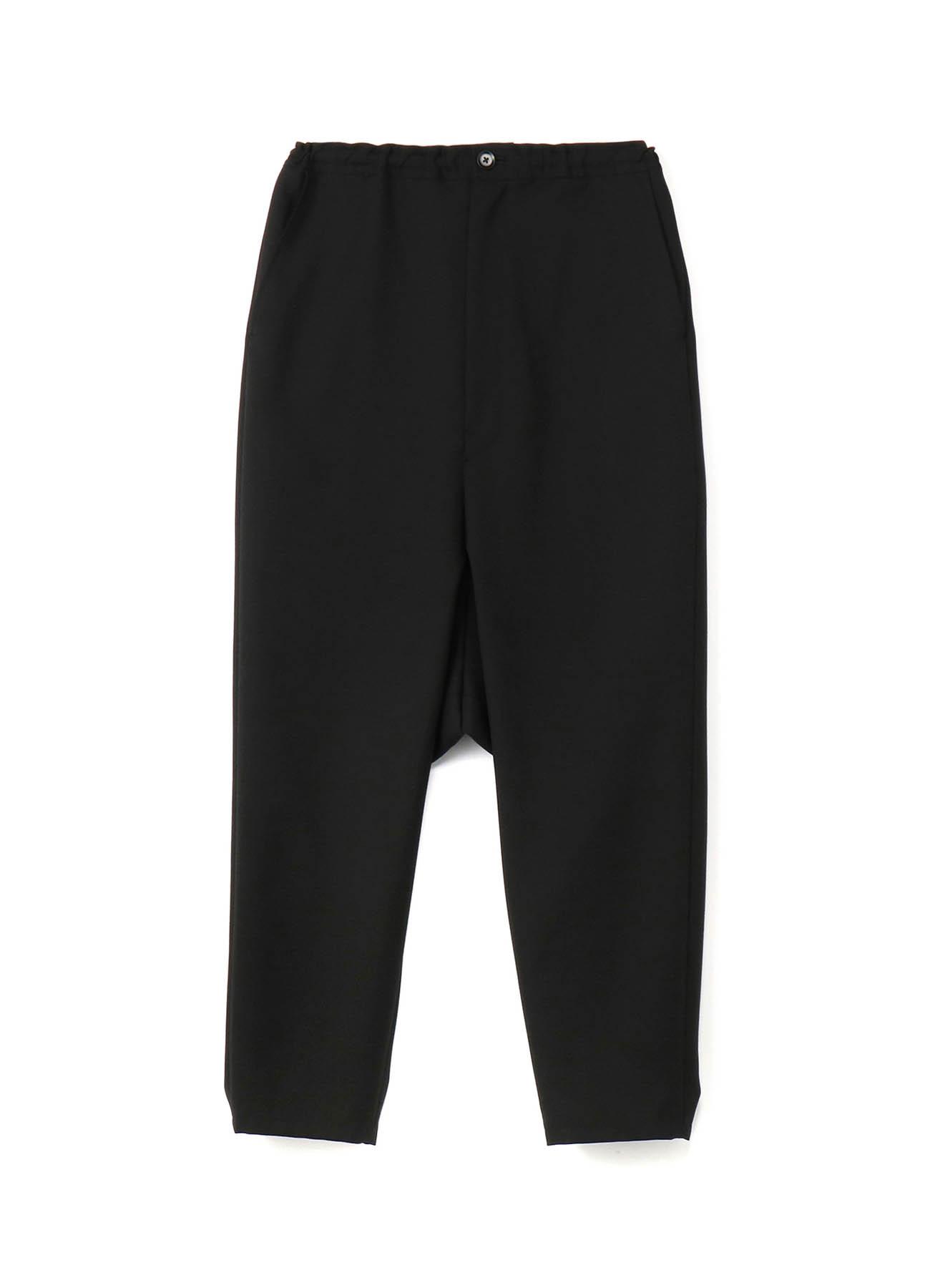 T / W gaberdine Sarouel直筒裤