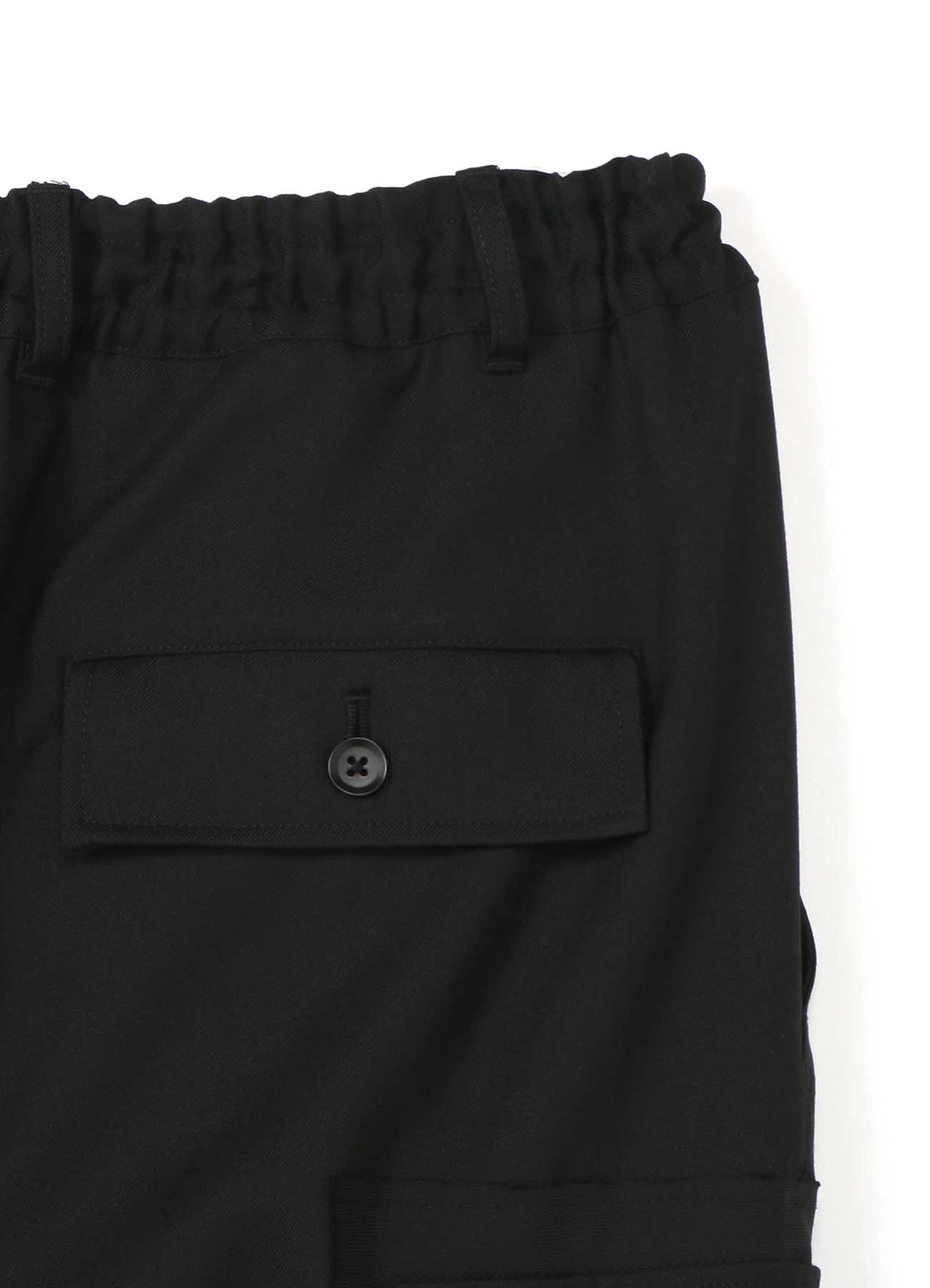 T/W Gabardine Military Cargo Pants