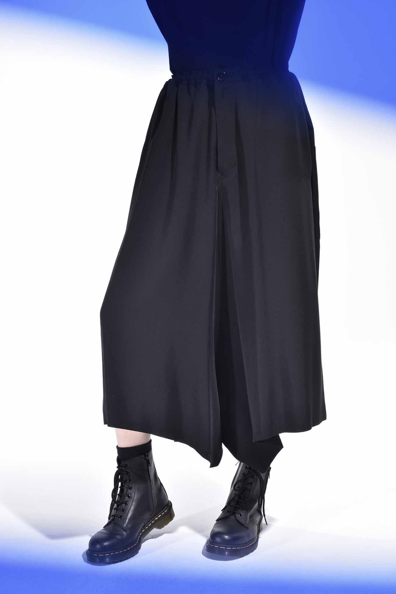 天丝不对称设计哈伦裤
