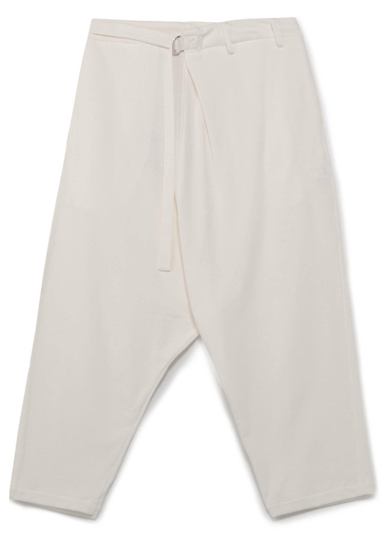 Mini Fleece Wrap Sarouel Pants