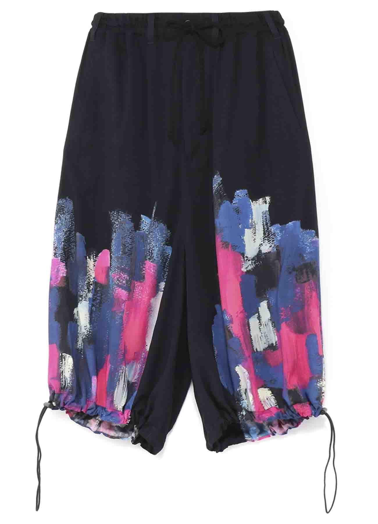 【Ground Y×NON Collaboration】Gathered Gaucho Pants