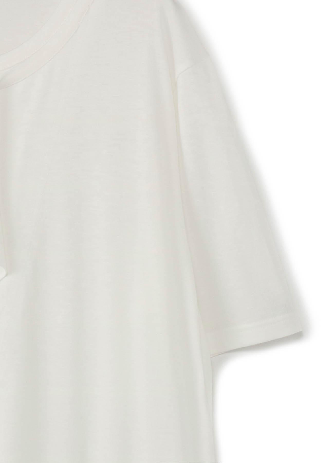 30/- Modal Jersey Deformed Drape Short Sleeves Cut Sew