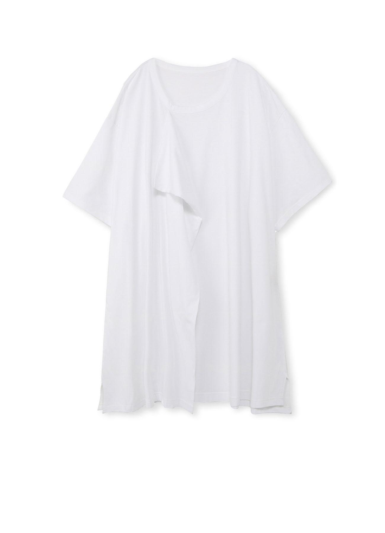 前胸垂坠装饰面料针织衫 · 宽松版