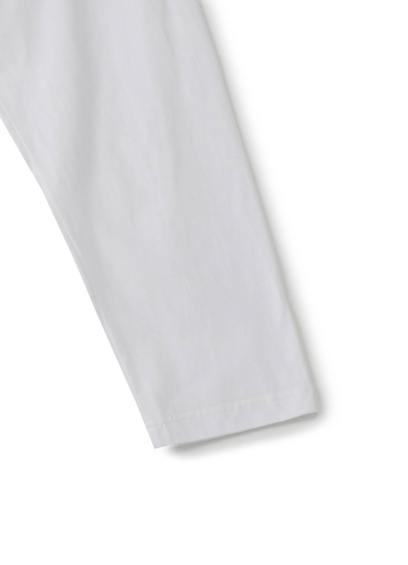 30 /棉质平针织布?后开slit长袖CutCut缝制