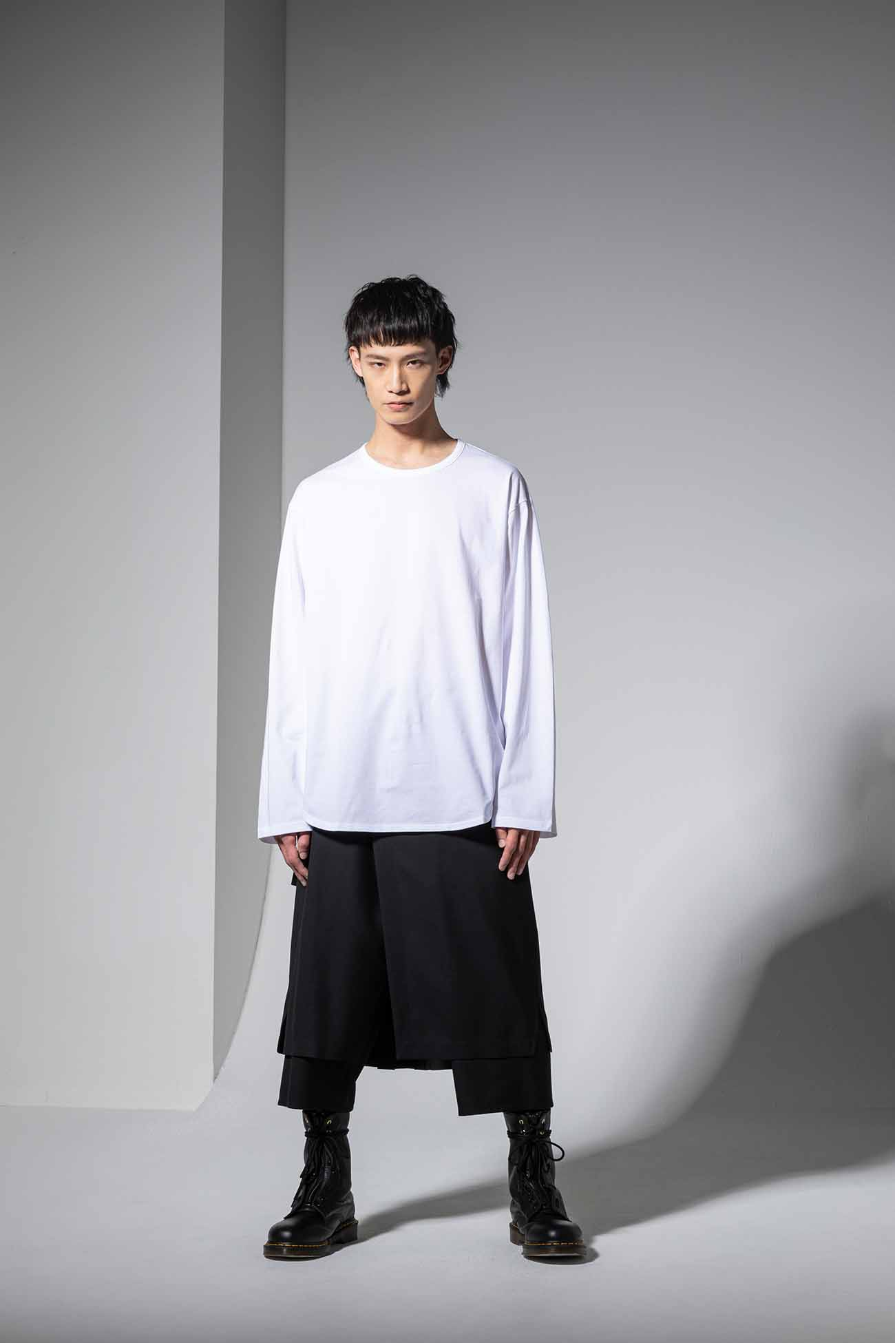 30/cotton Jersey Round Long Sleeves Cut Sew